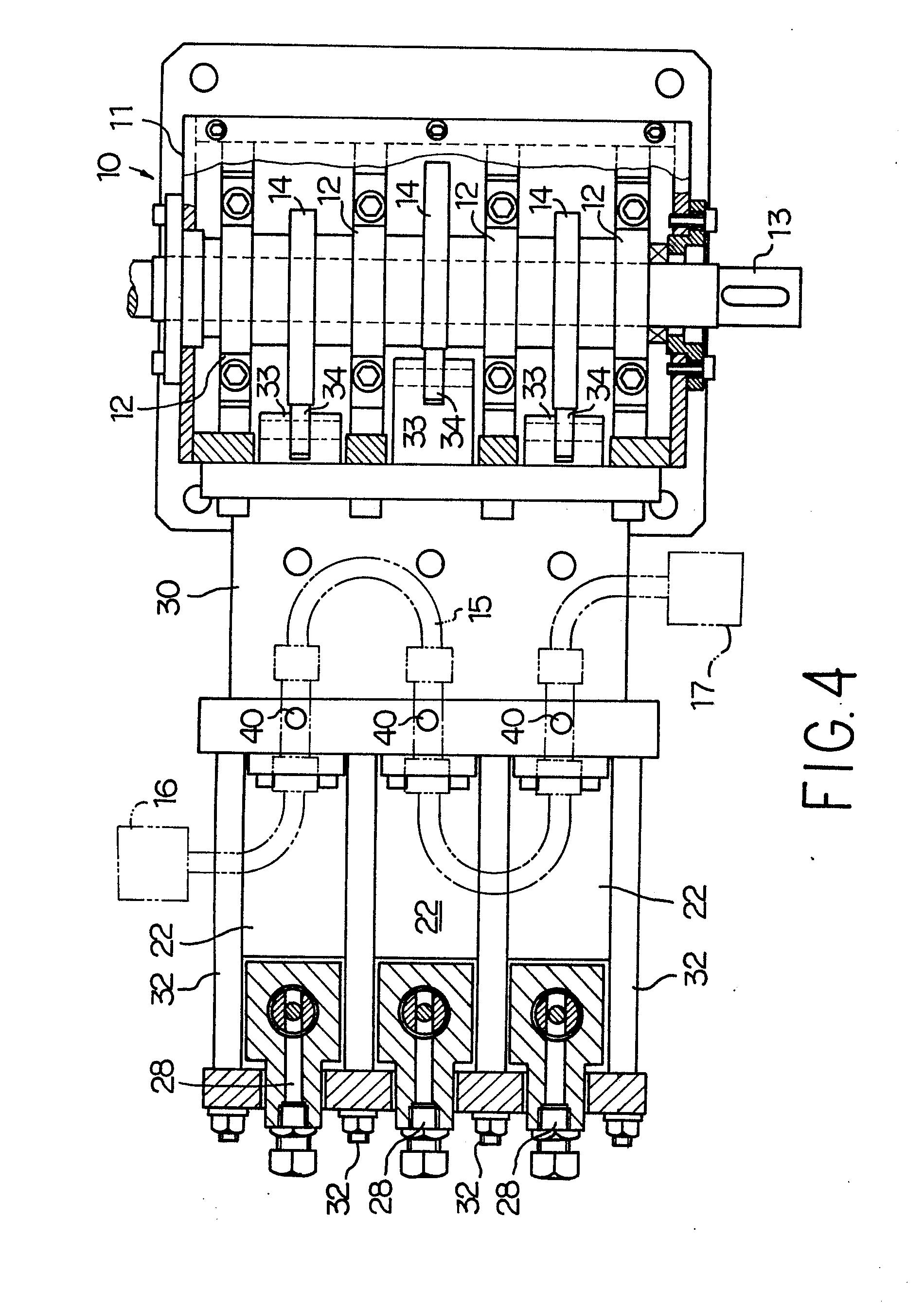 triple cylinder reciprocating pump