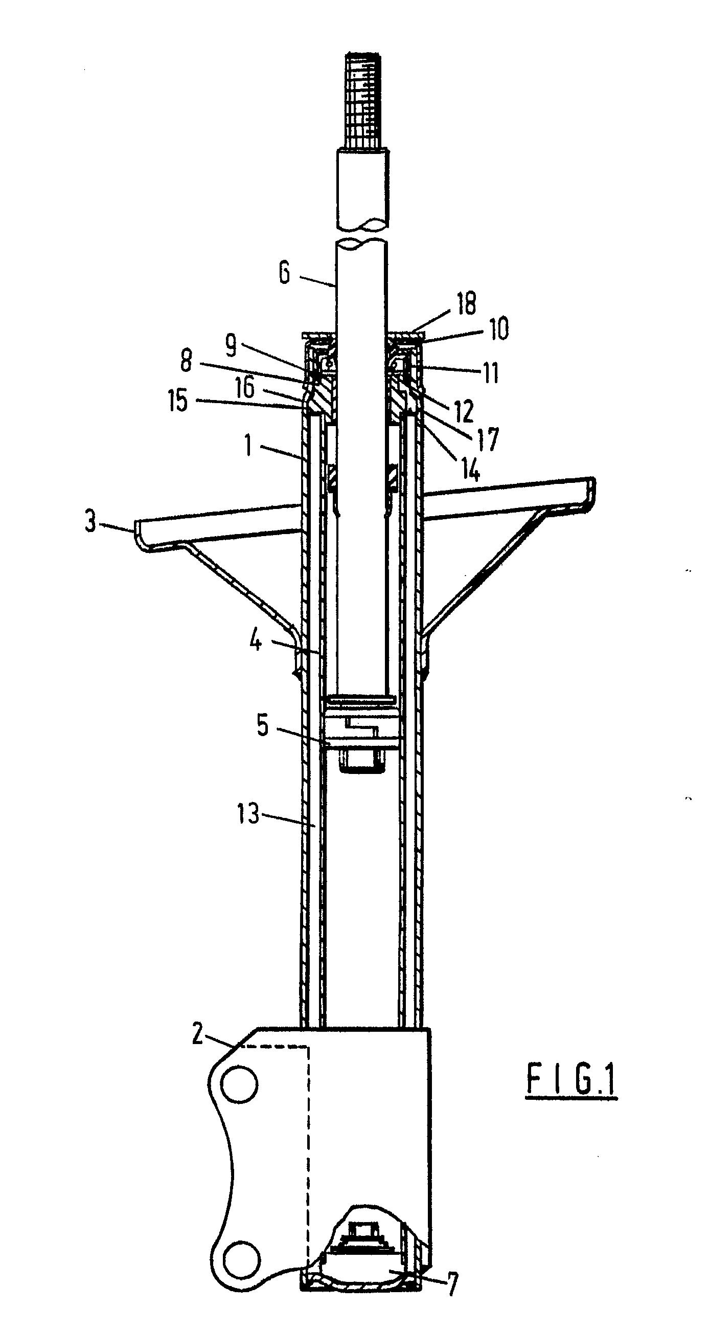 construction and working of telescopic shock absorber pdf