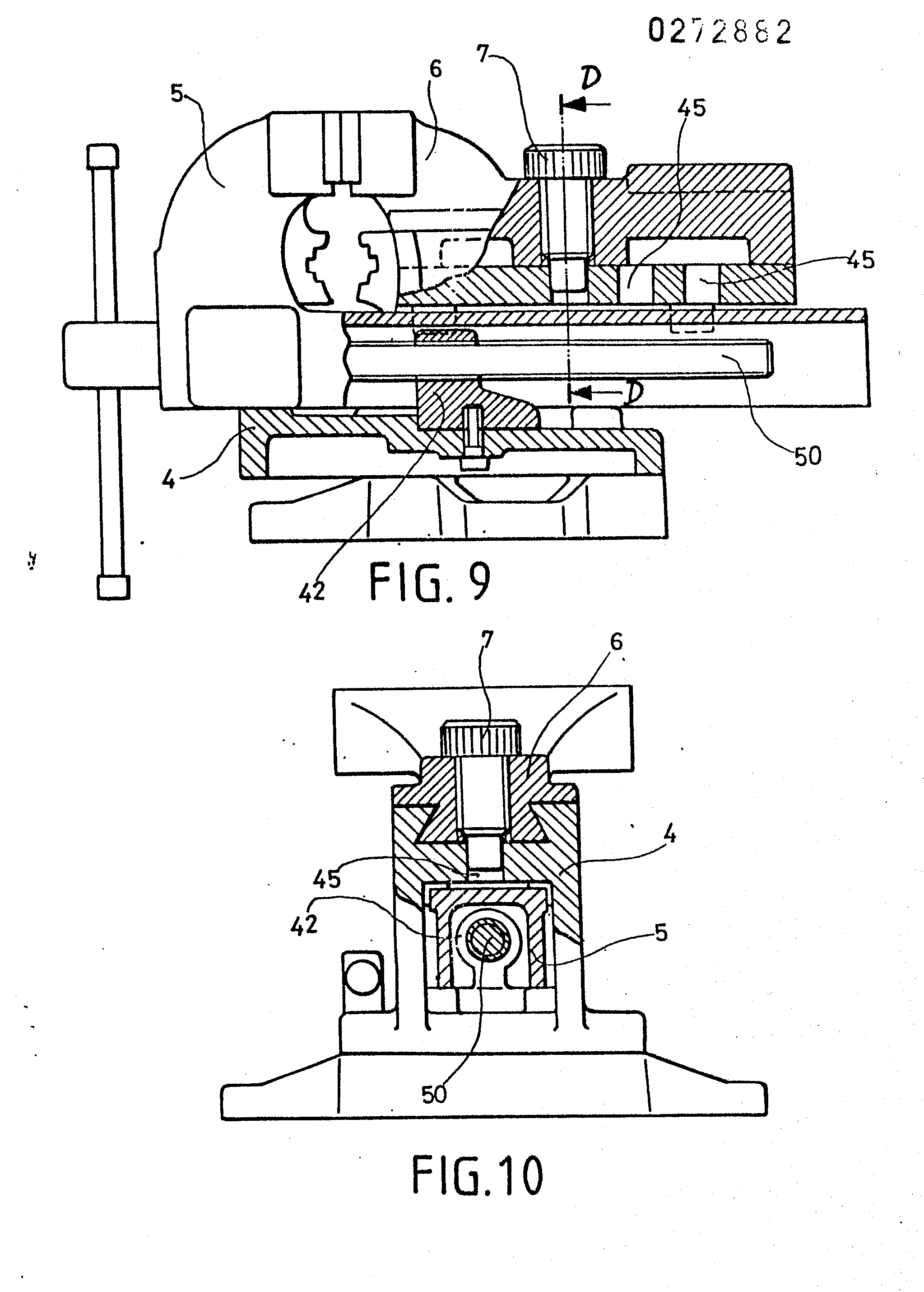 Patent Ep0272882a2 Bench Vice Google Patents
