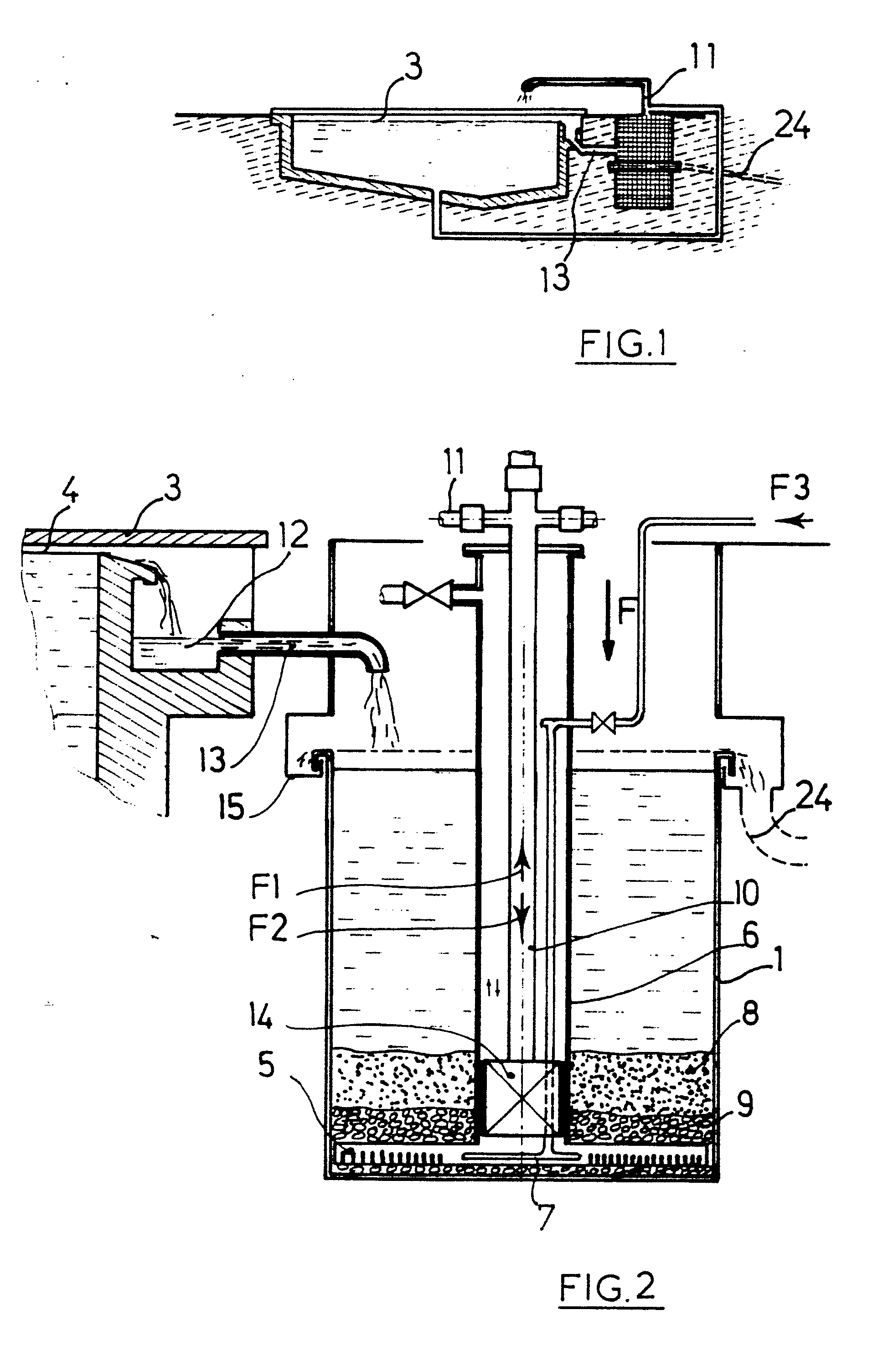 Patent ep0276621a1 filter for the overflow of water from for What does piscine mean in french