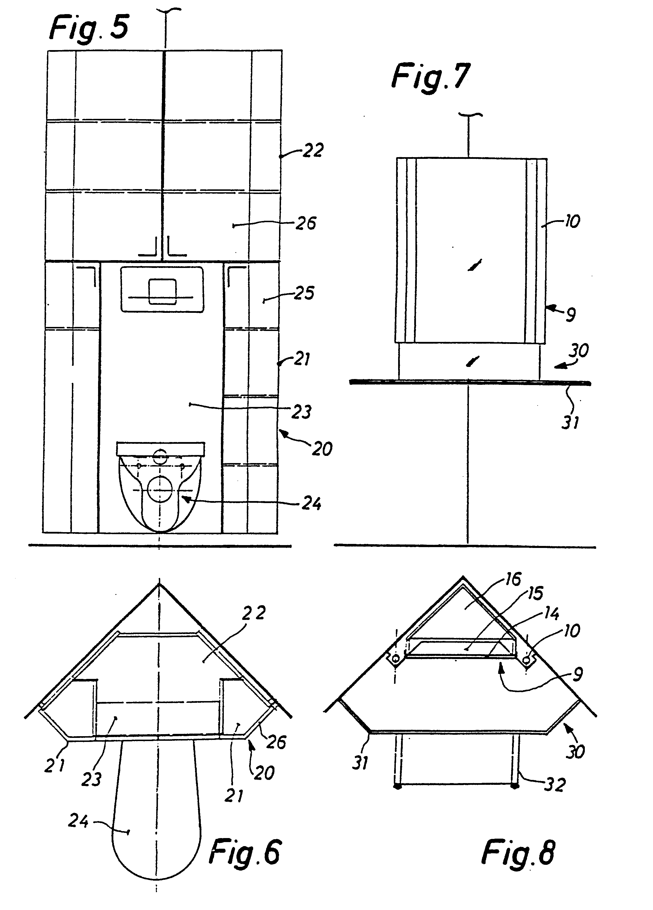Patent EP0283845A1   Badezimmermöbel Satz   Google Patents