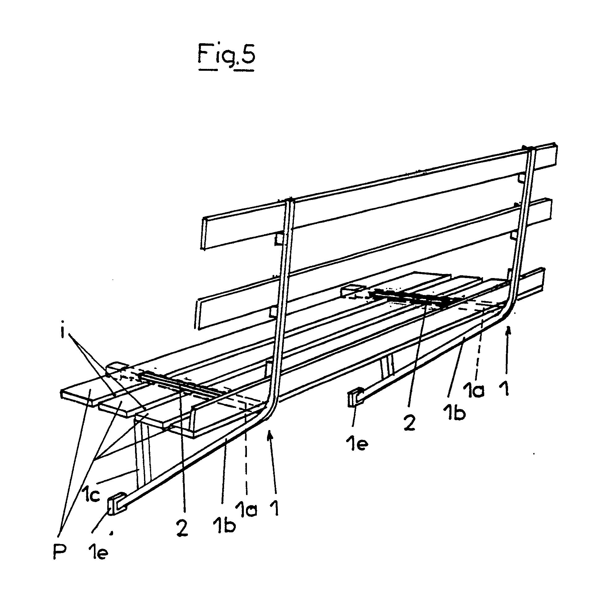 patent ep0298886b1 console m tallique d 39 chafaudage google patents. Black Bedroom Furniture Sets. Home Design Ideas