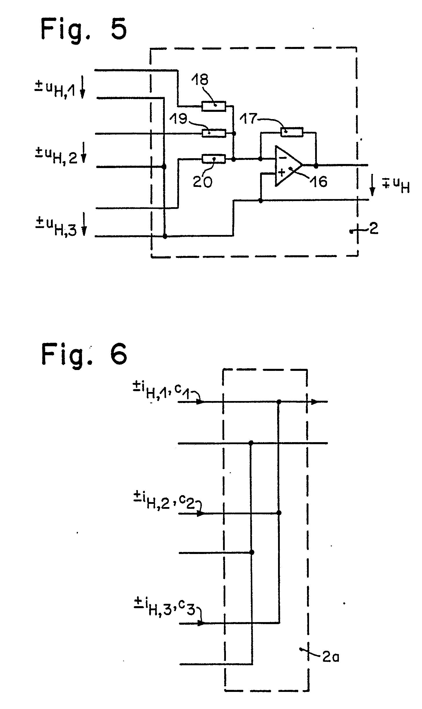 patente ep0302171a1 anordnung zur umwandlung eines elektrischen mehrphasensignals in eine. Black Bedroom Furniture Sets. Home Design Ideas