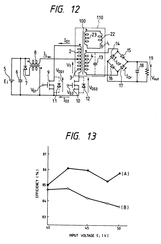 patent ep0303994b1 - push-pull current-fed dc-dc converter