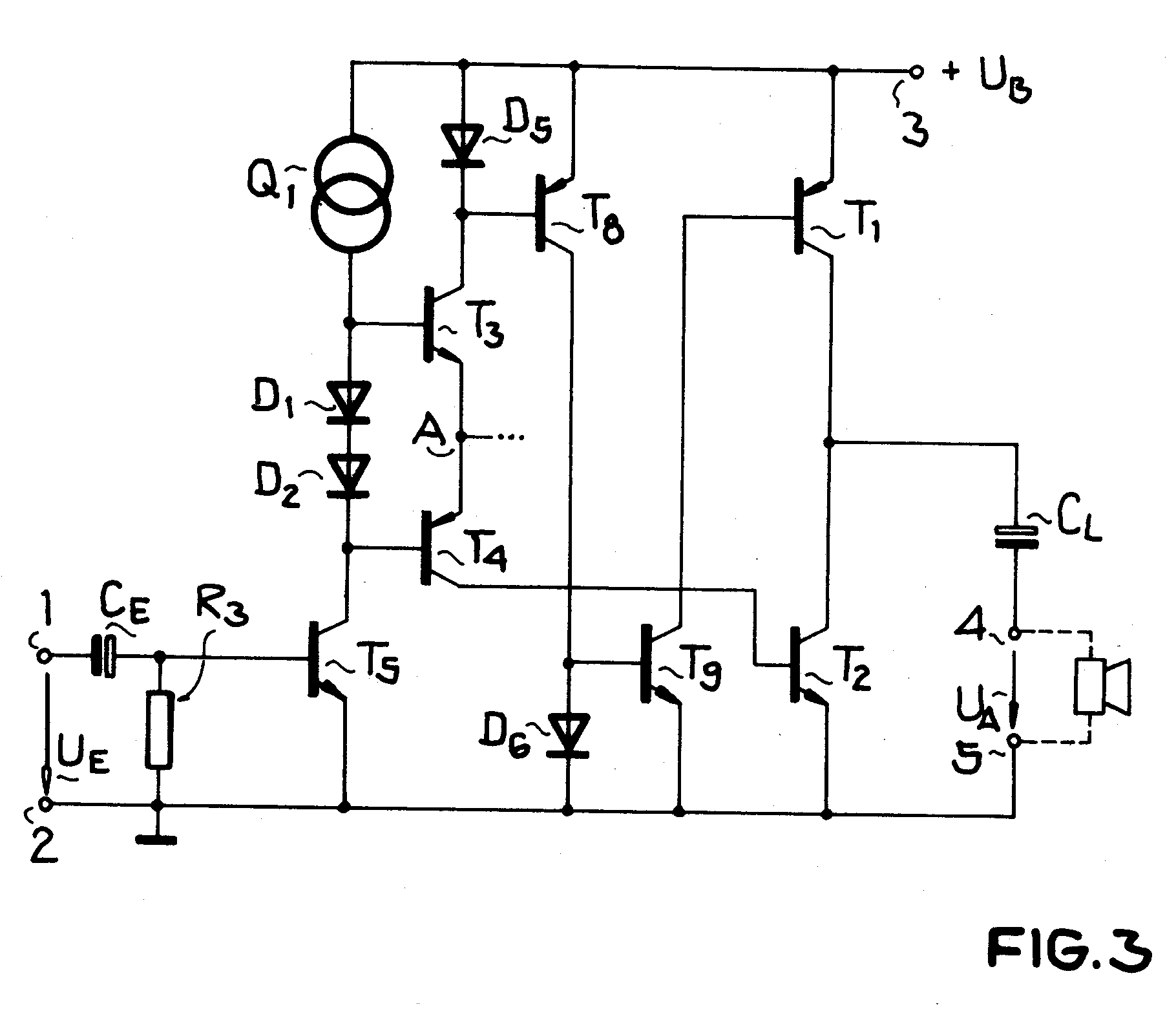patent ep0304680b1 - integrated complementary push-pull class b output power amplifier