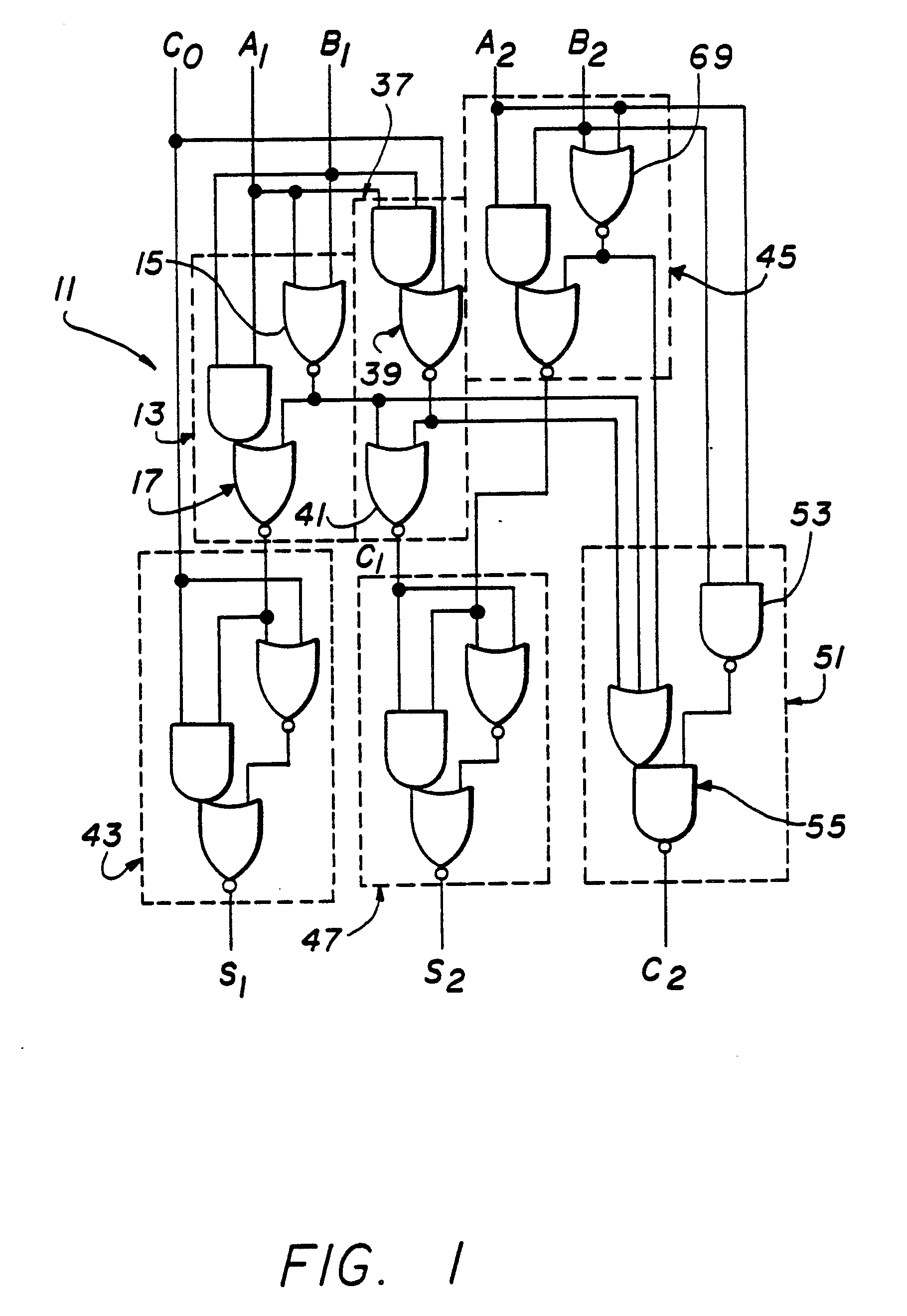 Patent Ep0307831a2 High Speed Adder Google Patents Circuit 2 Twobit Drawing