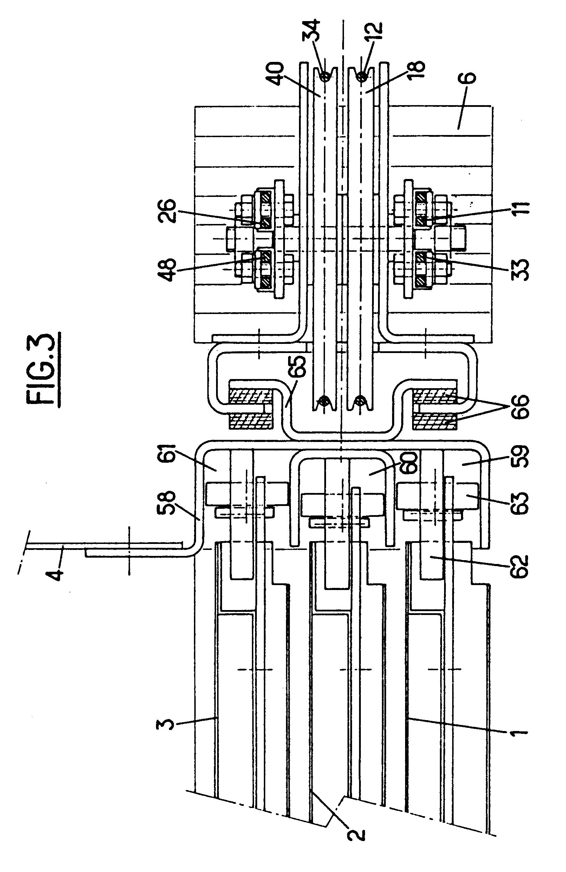 Patent ep0307870b1 porte t lescopique verticale pour cabine d 39 ascenseur et de monte charge - Operateur de porte d ascenseur ...