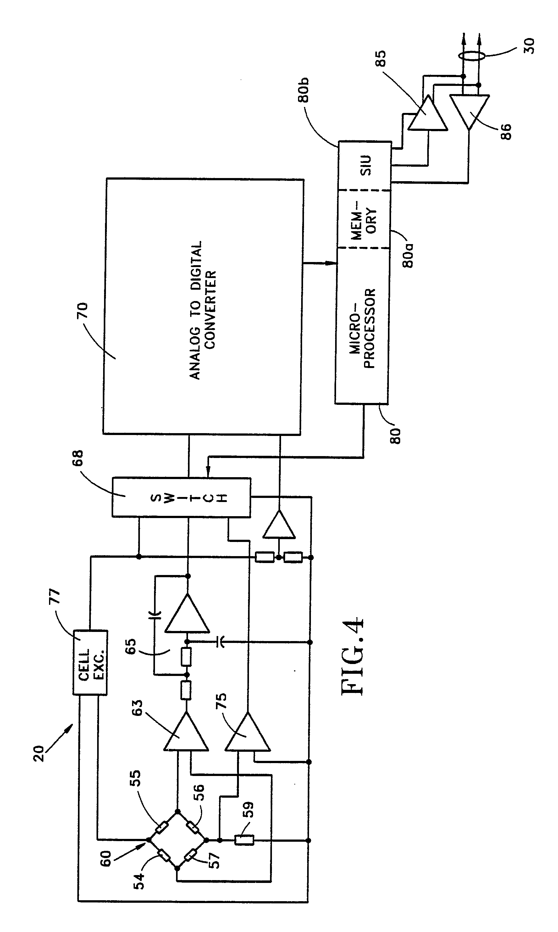 patent ep0319202a2 - compensated multiple load cell scale