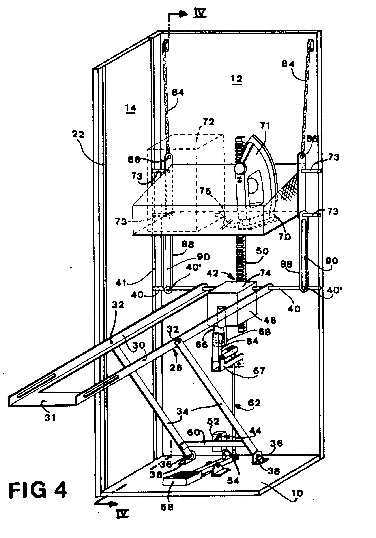 patent ep0319855b1 b gelbrett zum befestigen an einer. Black Bedroom Furniture Sets. Home Design Ideas