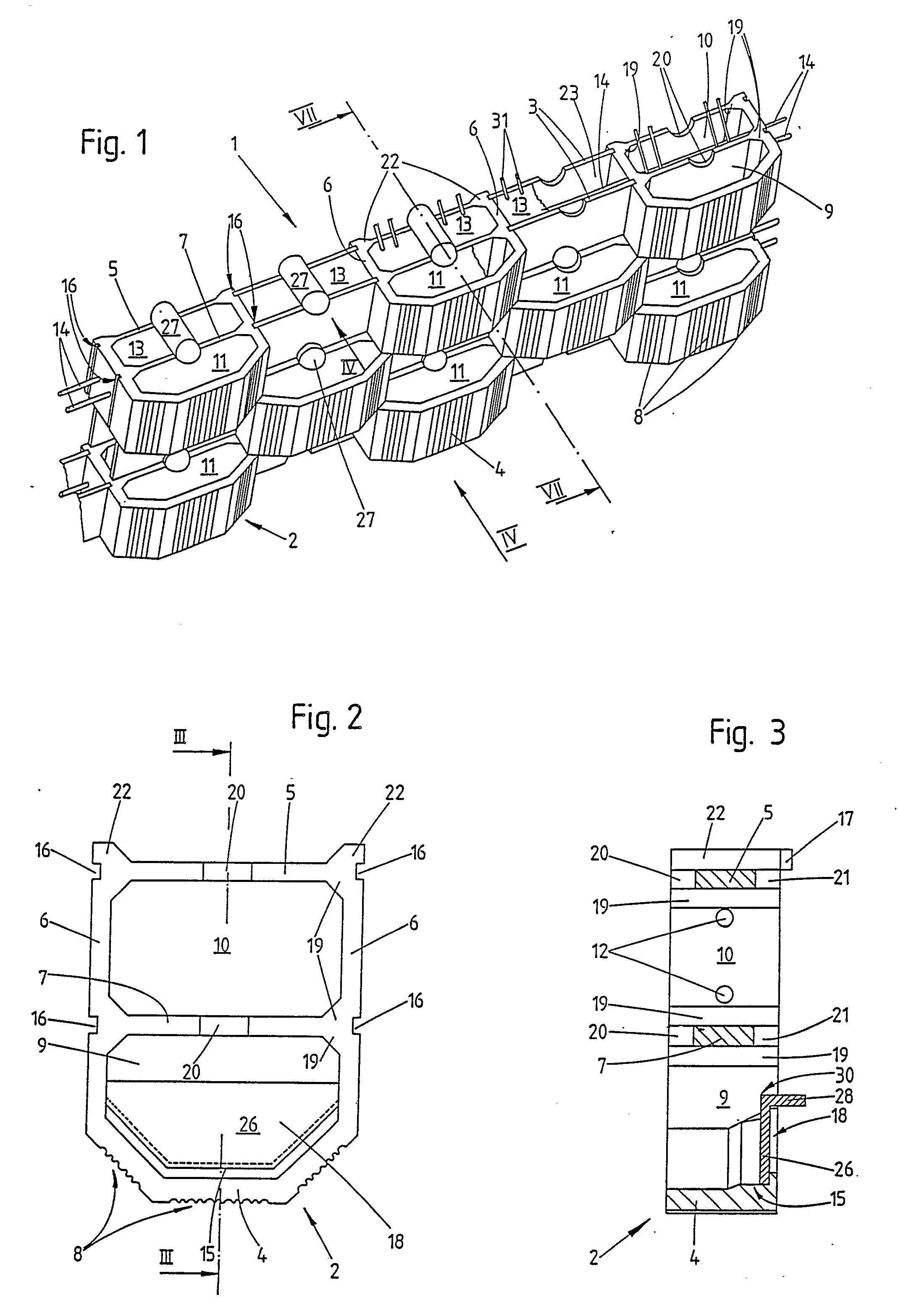 Patent EP0322667A1 - Method for building a wall, construction ...
