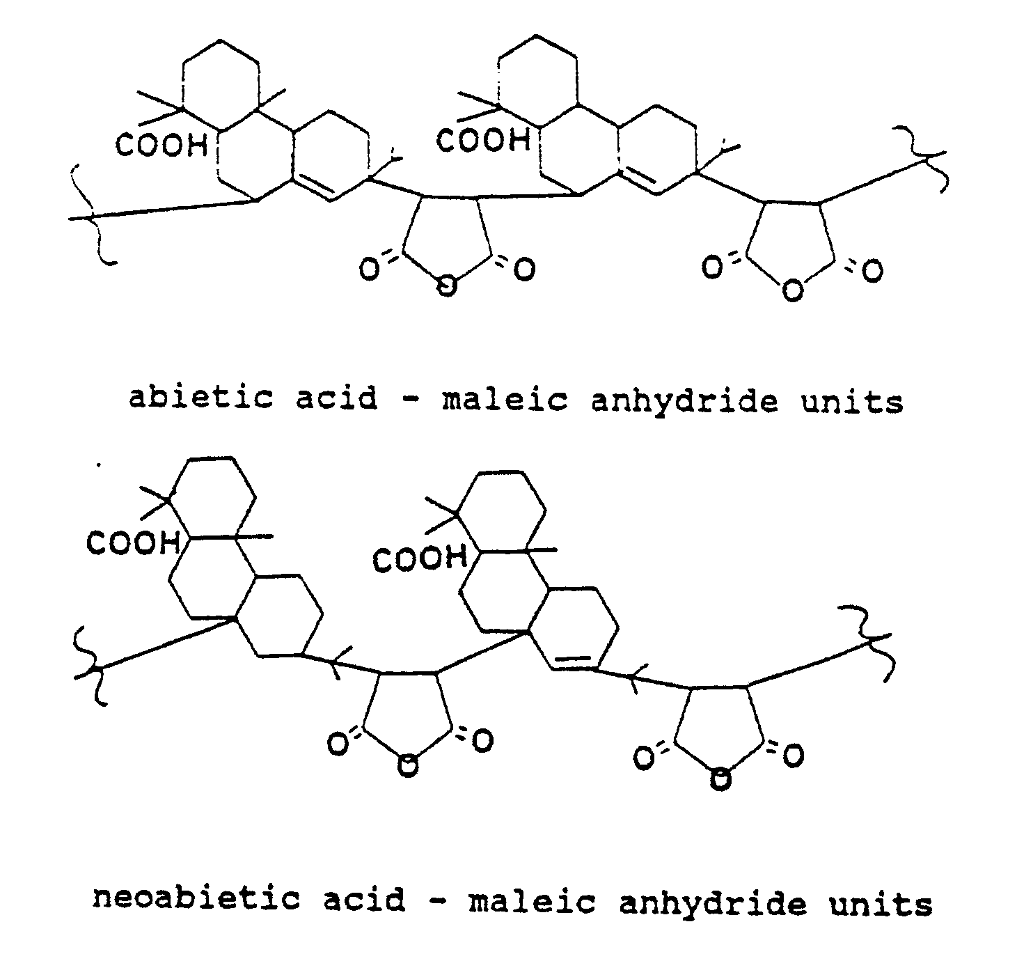 ... - Copolymer of resin acids and maleic anhydride - Google Patents