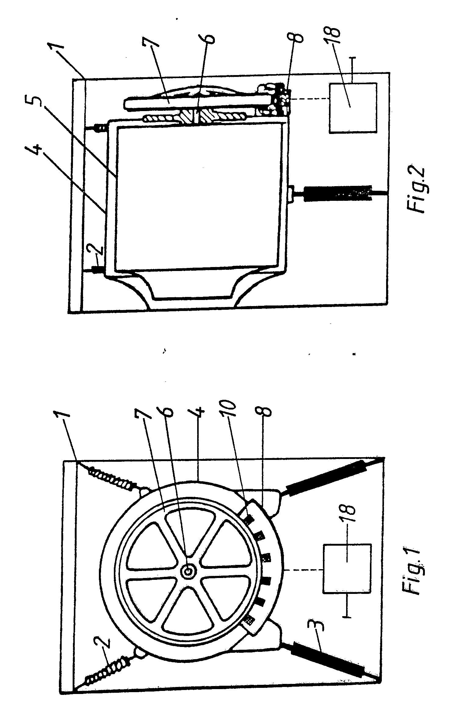 patent ep0350429a2 waschmaschine oder w schetrockner mit einem die w schetrommel direkt. Black Bedroom Furniture Sets. Home Design Ideas