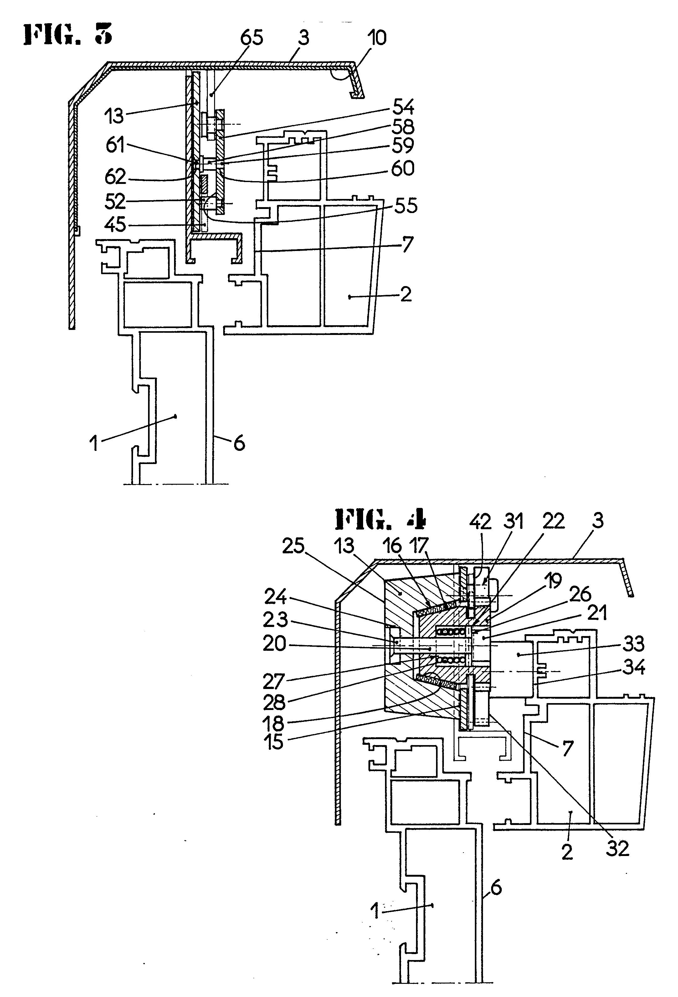 patent ep0352206a1 pivot pour fen tre basculante ou oscillante de toiture google patents. Black Bedroom Furniture Sets. Home Design Ideas