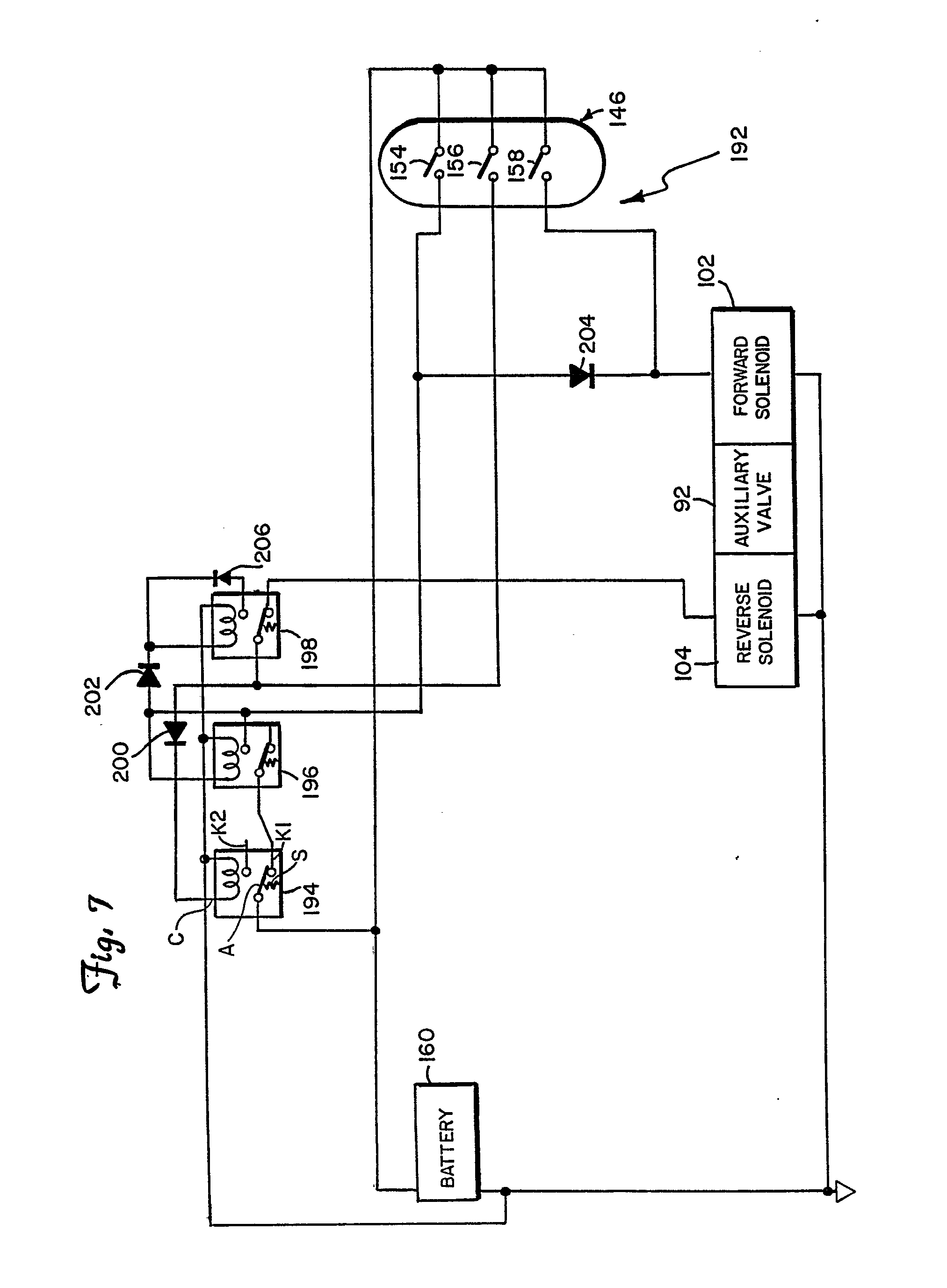 imgf0007 patent ep0352654a2 electrically controlled auxiliary hydraulic case 430 skid steer wiring diagram at reclaimingppi.co