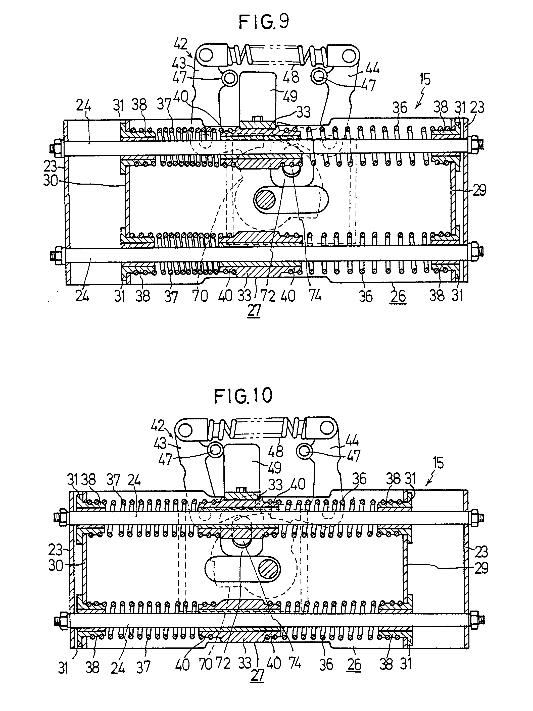 patent ep0355814a2 - a force storage mechanism in an on-load tap changer