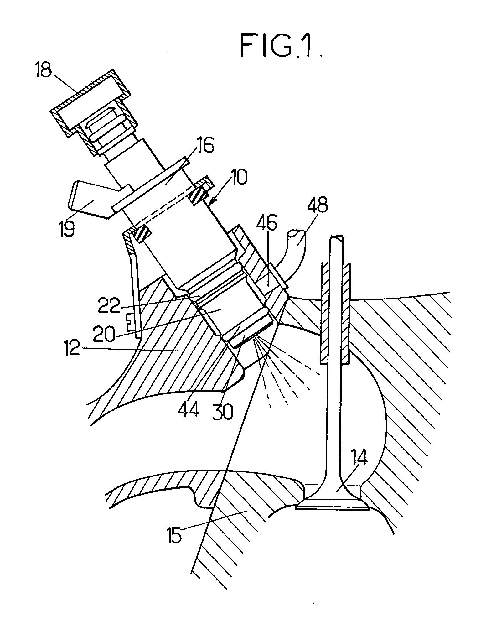 Patent EP A1 Dispositif d injection de bustible