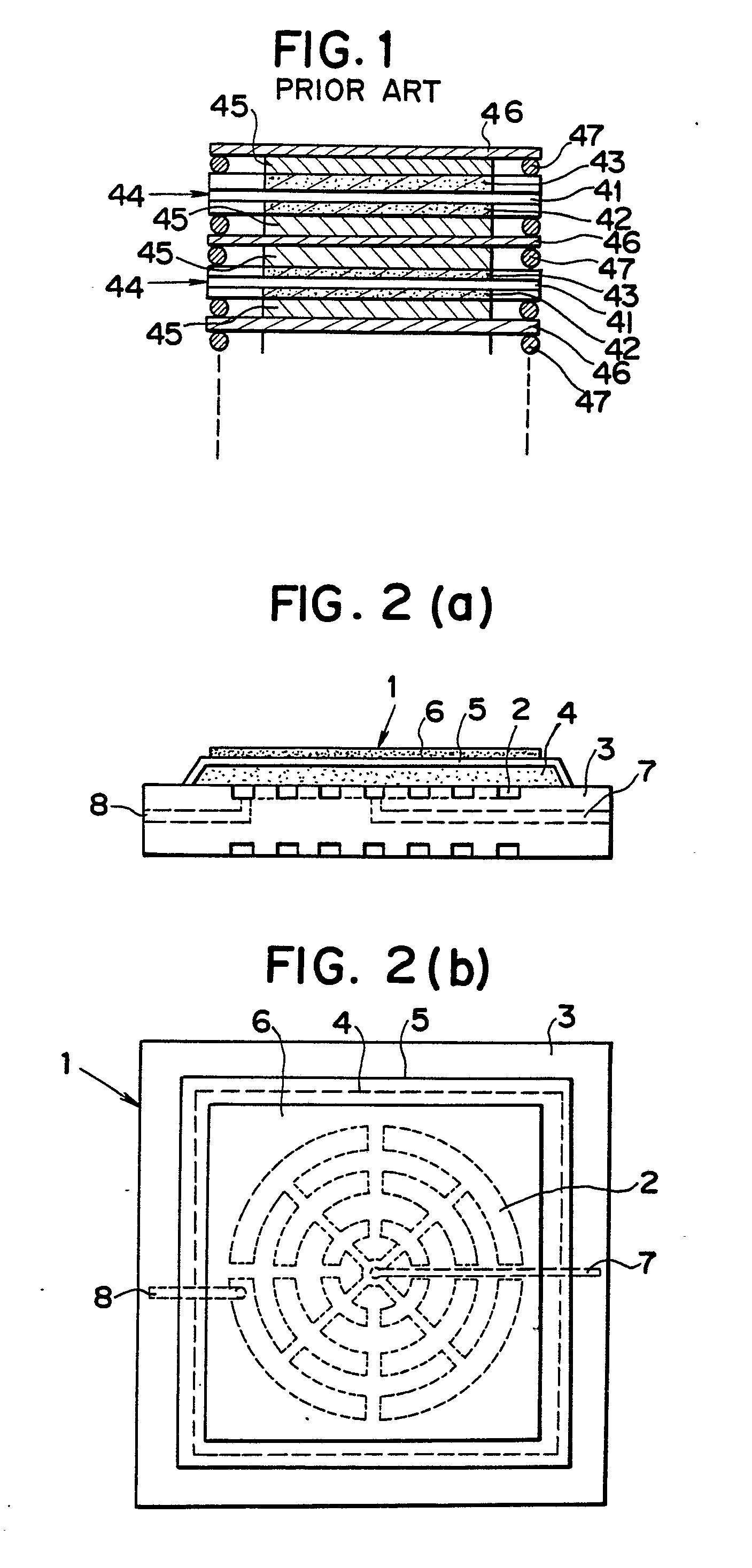 专利ep0361383a1 - brennstoffzelle