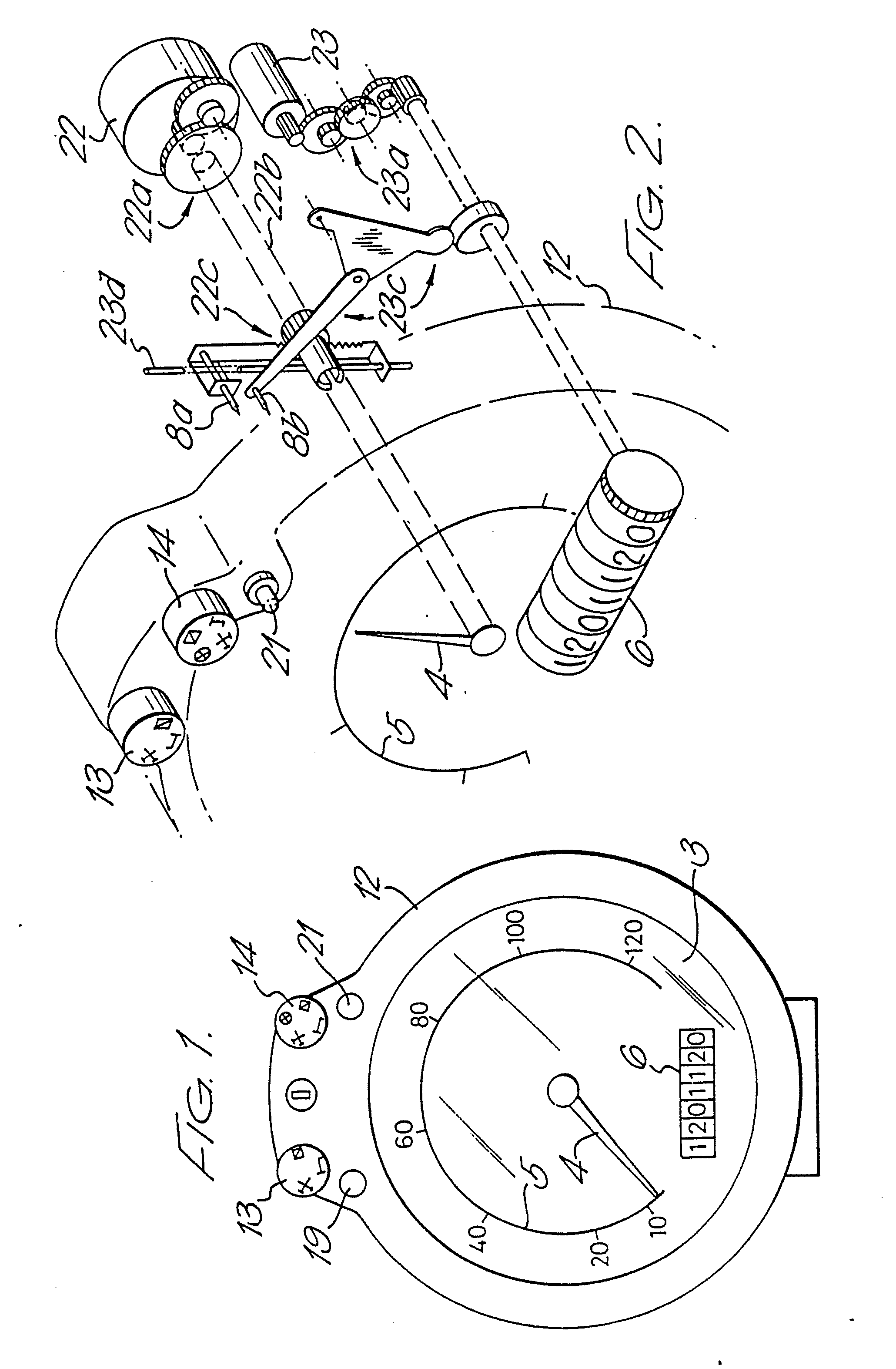 imgf0001 patent ep0362969a2 tachograph and vehicle speed control device tachograph wiring diagram at soozxer.org