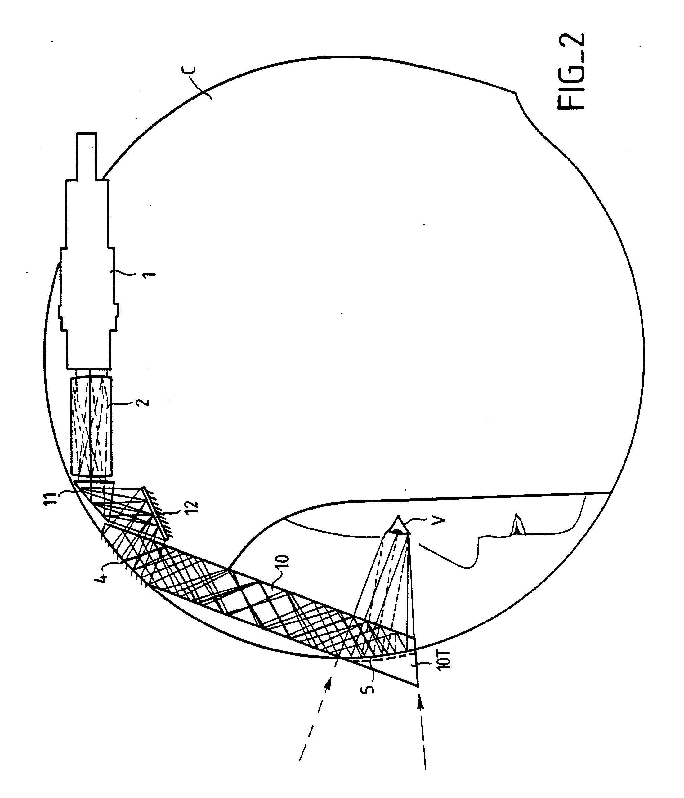 Patent ep0365406a1 optical collimating system for a for Miroir parabolique