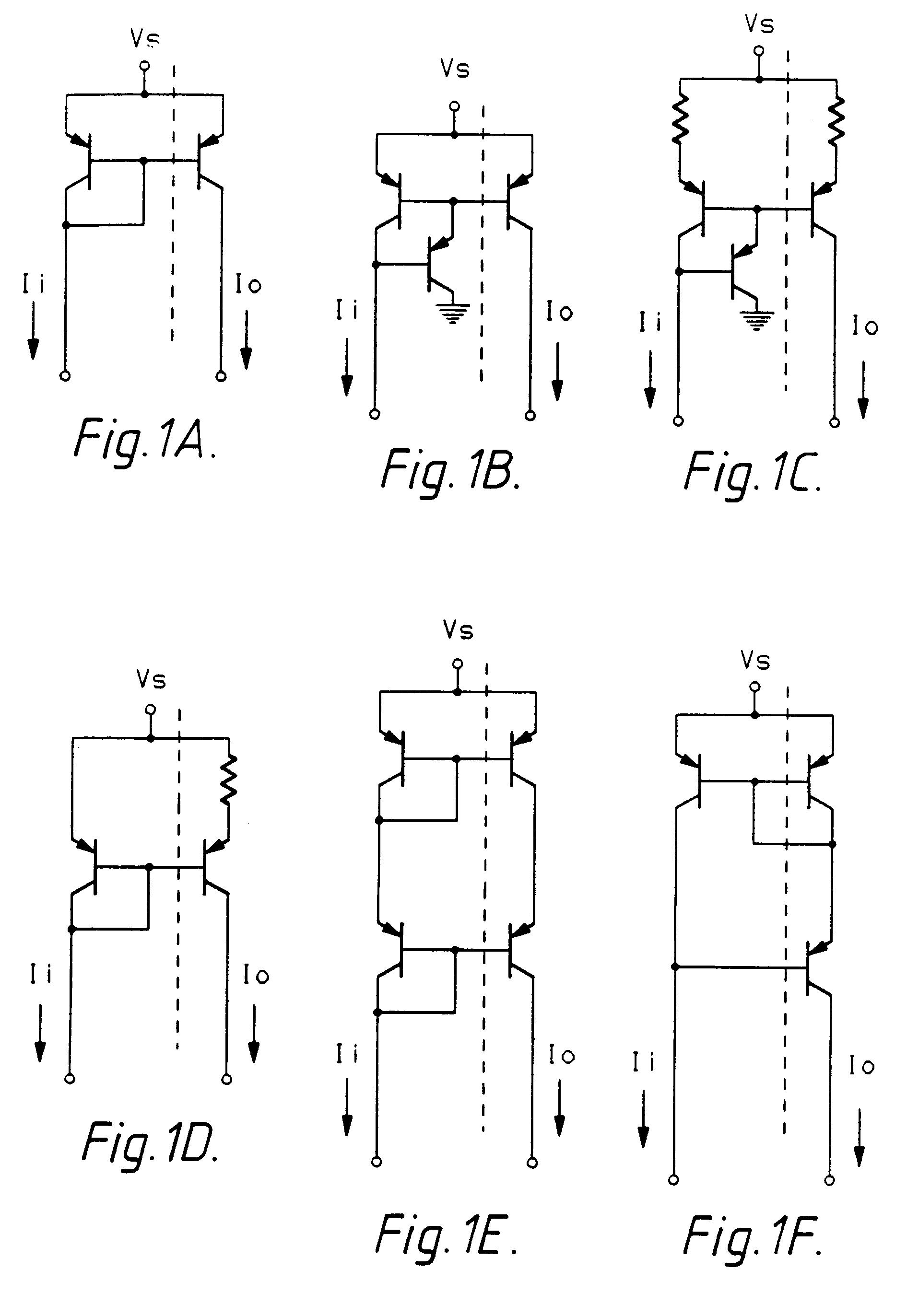 Patent ep0366253b1 circuit miroir de courant immunis for Miroir de courant mos