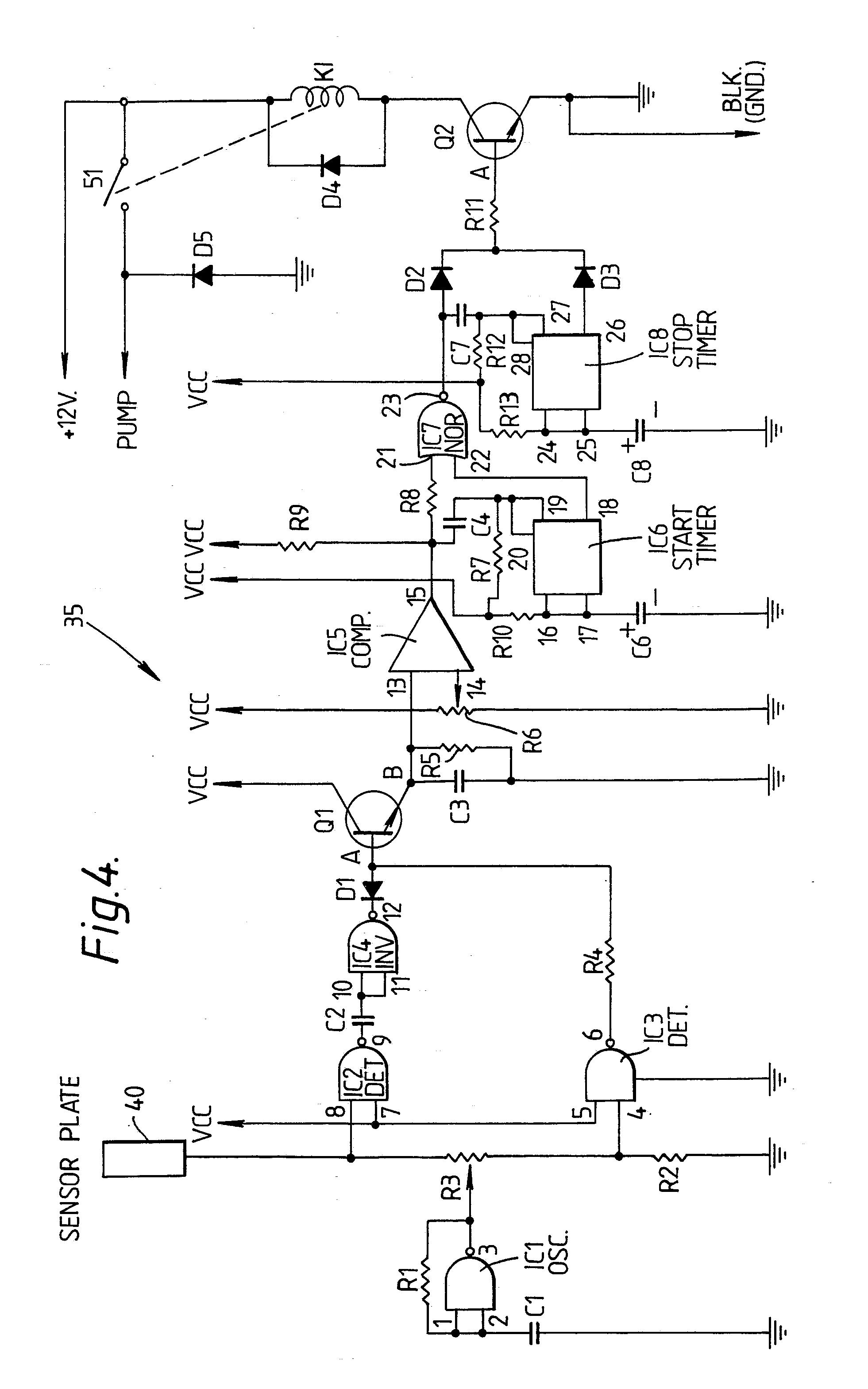 patent ep0373809a2 - ultrasonicc bilge pump control device