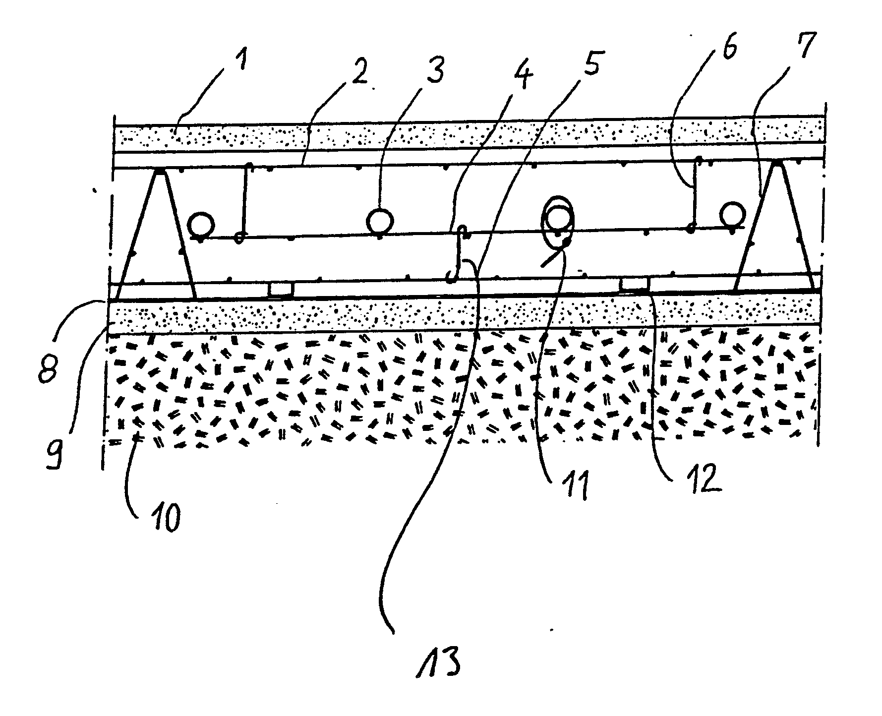 patent ep0385148a1 betonfussboden mit heizungsrohren und verfahren zum verlegen von. Black Bedroom Furniture Sets. Home Design Ideas