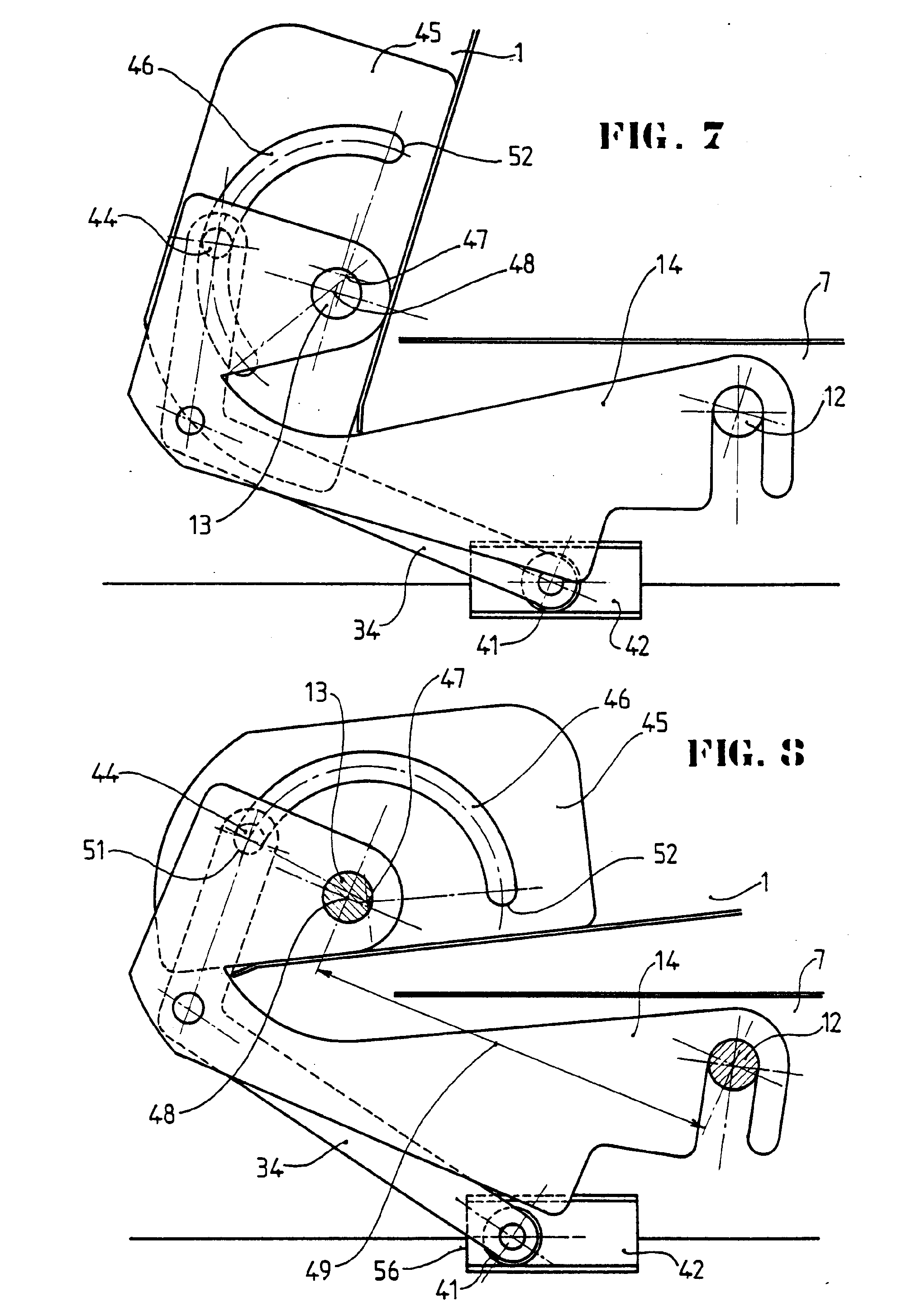 Patent ep0387170b1 pivot pour fen tre basculante ou for Fenetre oscillante