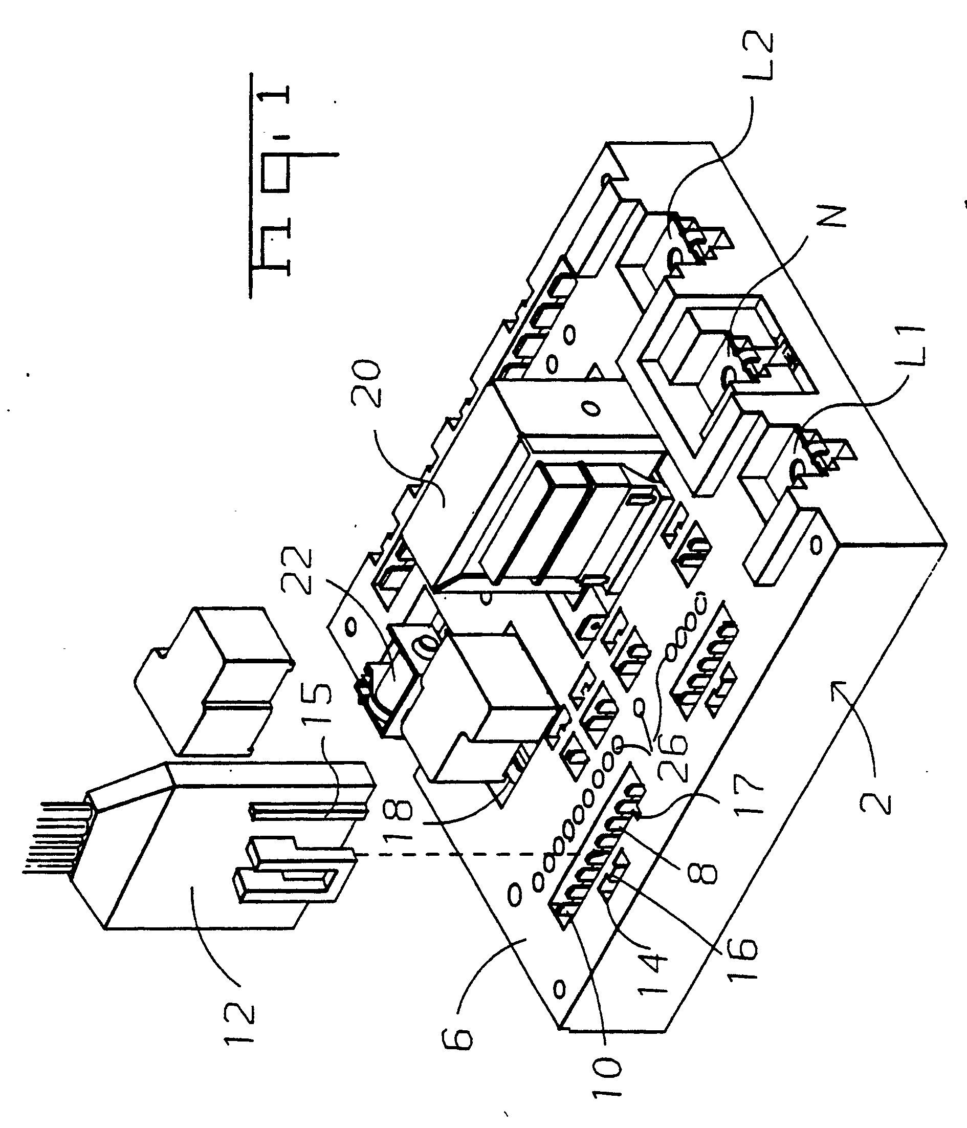 patent ep0387845a1 - reaction injection molded electrical distribution apparatus