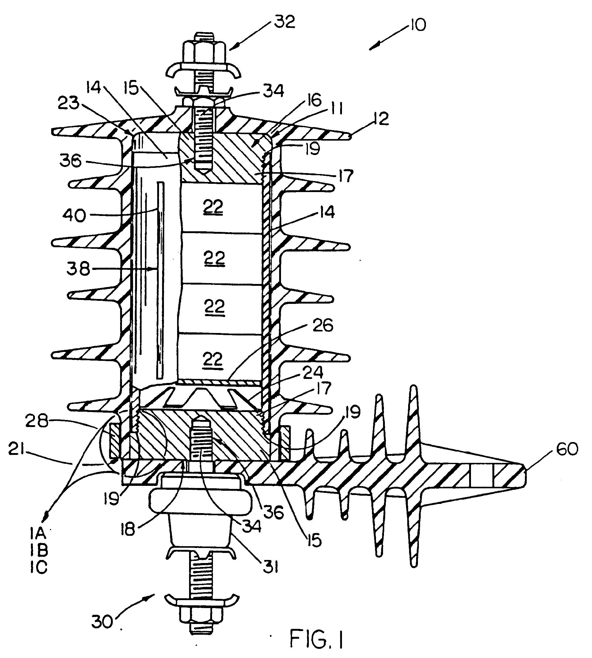 patent ep0393854b1 - fail-safe surge arrester
