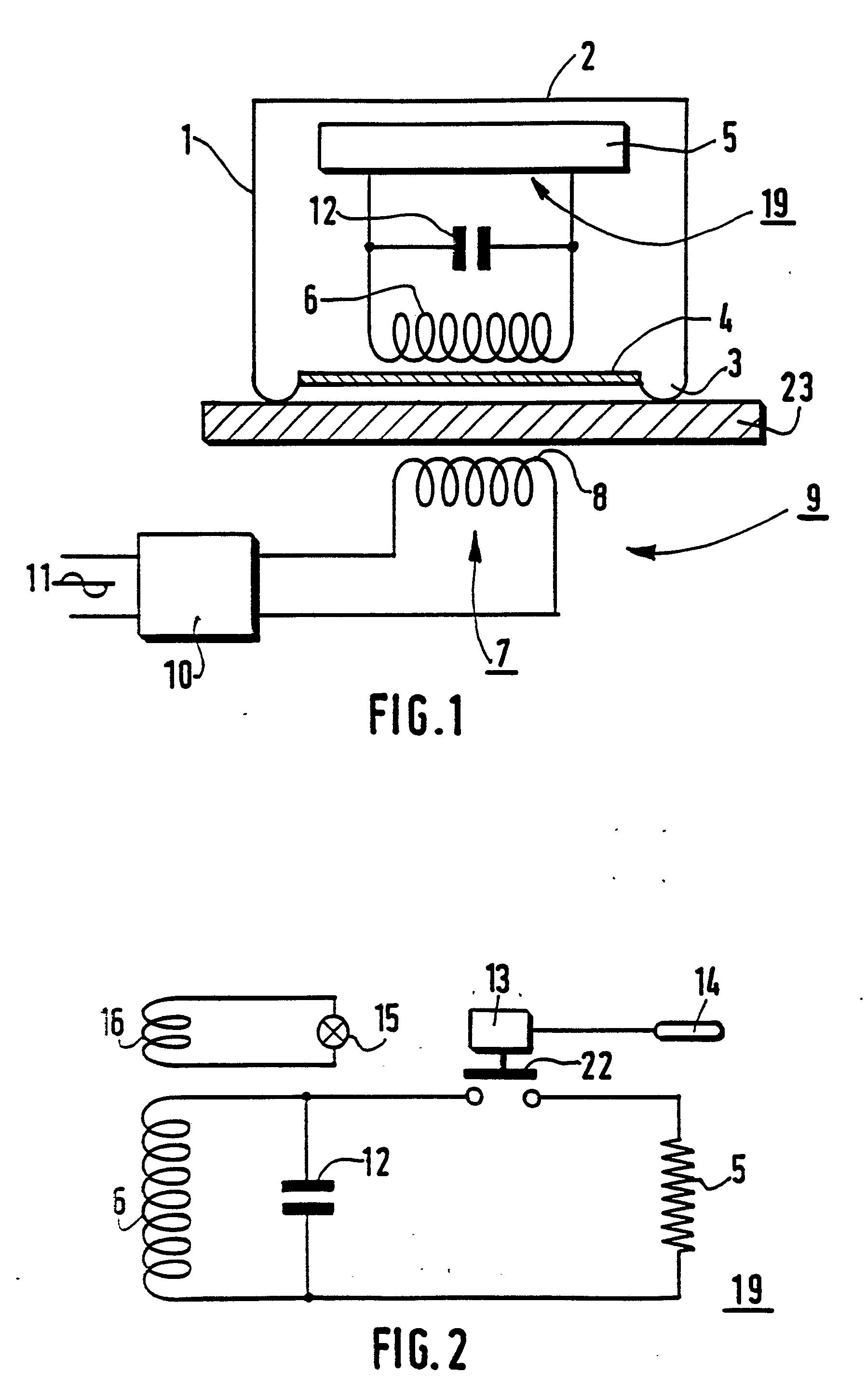 brevetto ep0394148a1 plaque lectrique chauffante amovible google brevetti. Black Bedroom Furniture Sets. Home Design Ideas