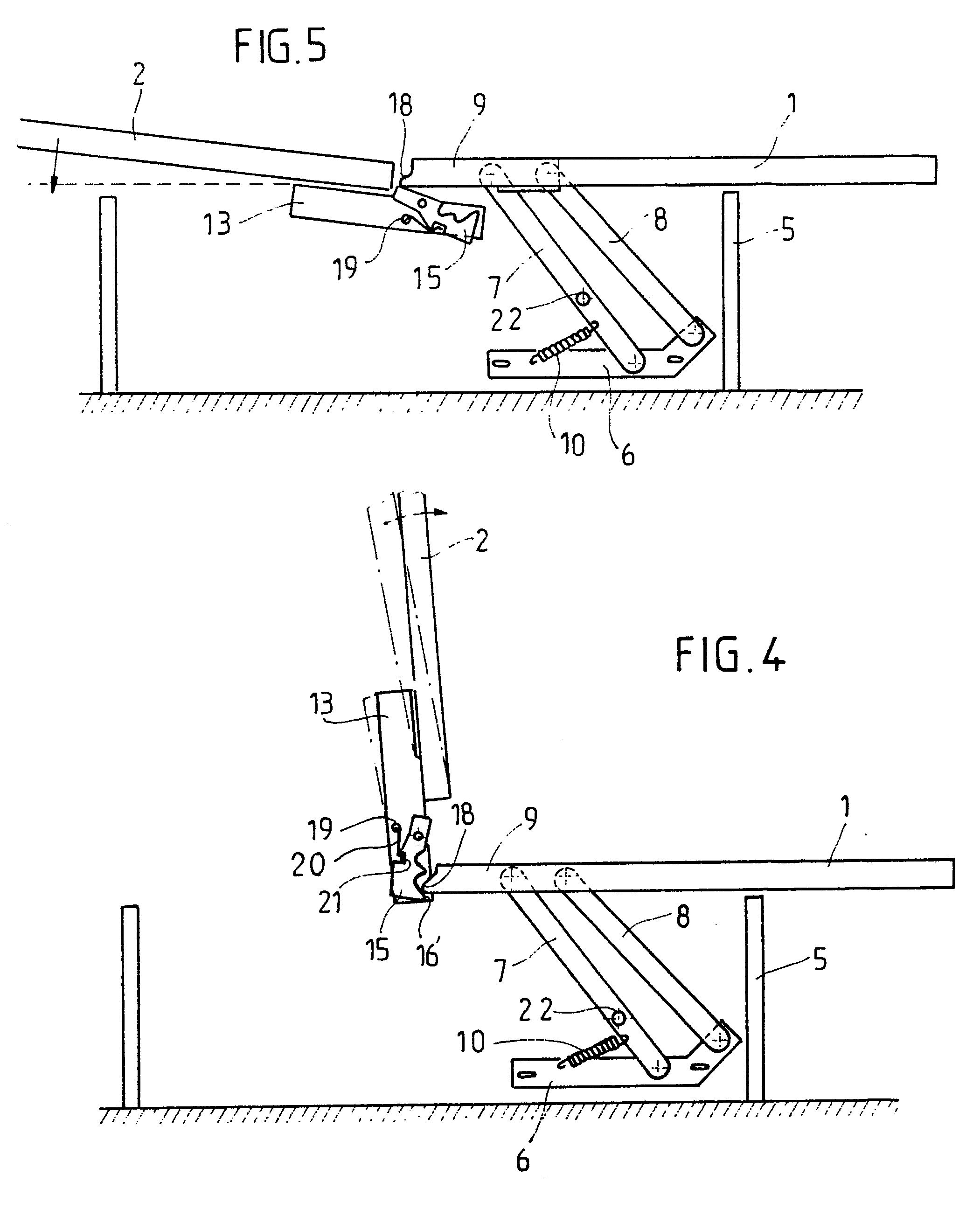Patent ep0395531a1 m canisme d 39 articulation pour les l ments d 39 une banquette convertible - Mecanisme clic clac ...