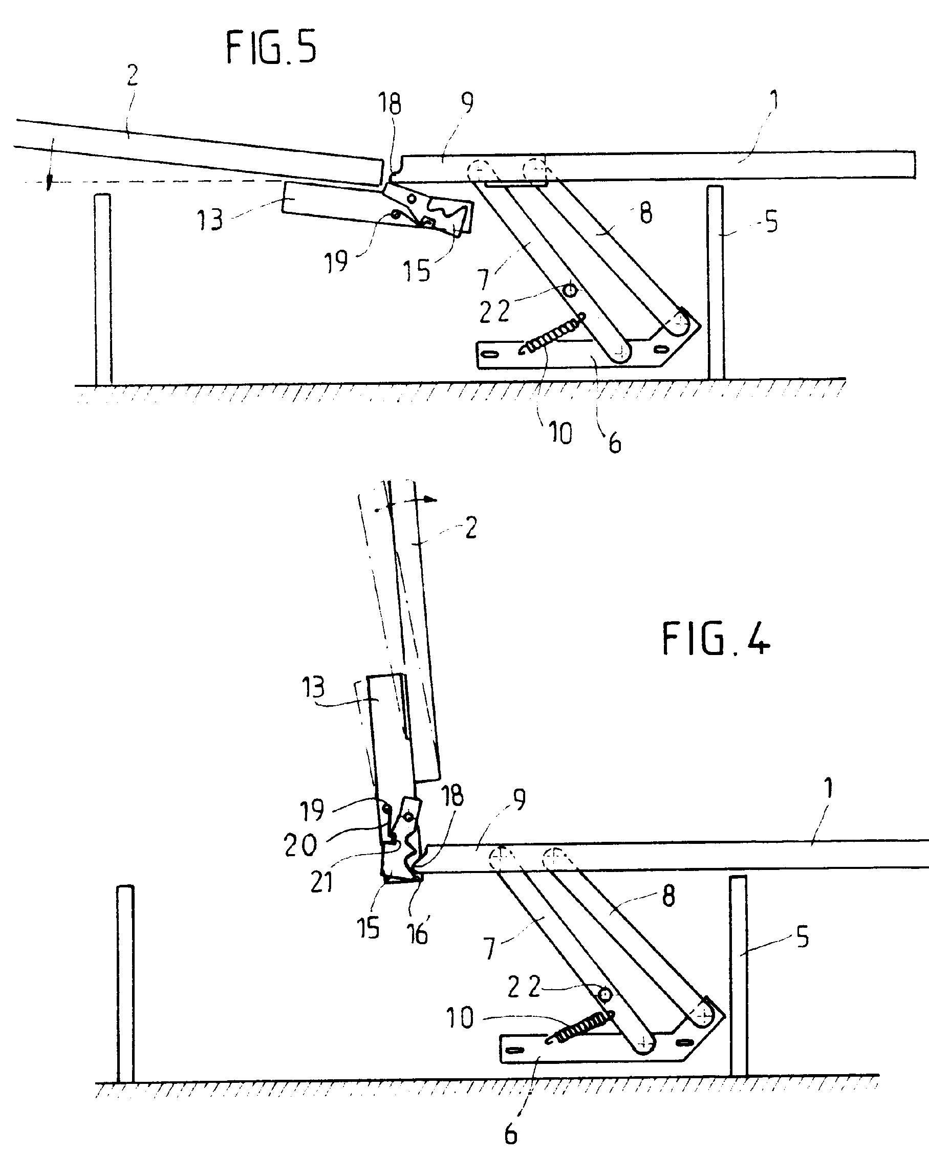 Patent ep0395531b1 m canisme d 39 articulation pour les l ments d 39 une - Mecanisme pour clic clac ...