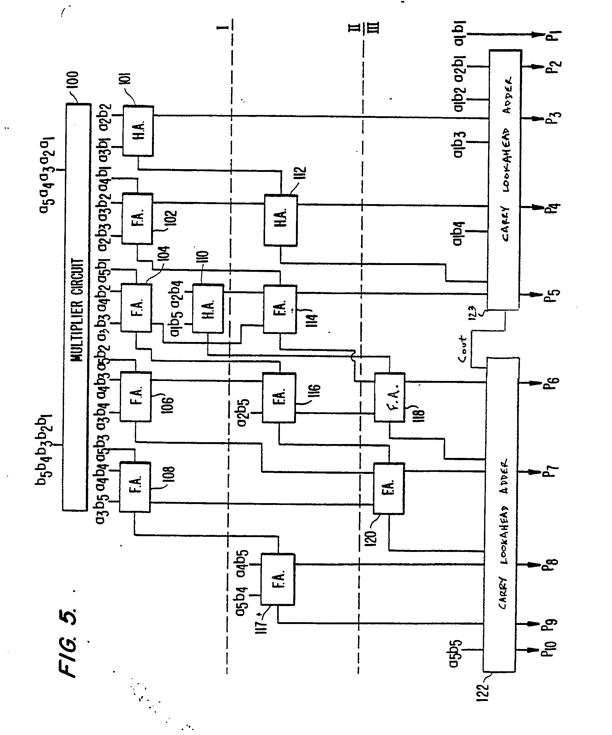 patent ep0405723a2 - high speed parallel multiplier circuit