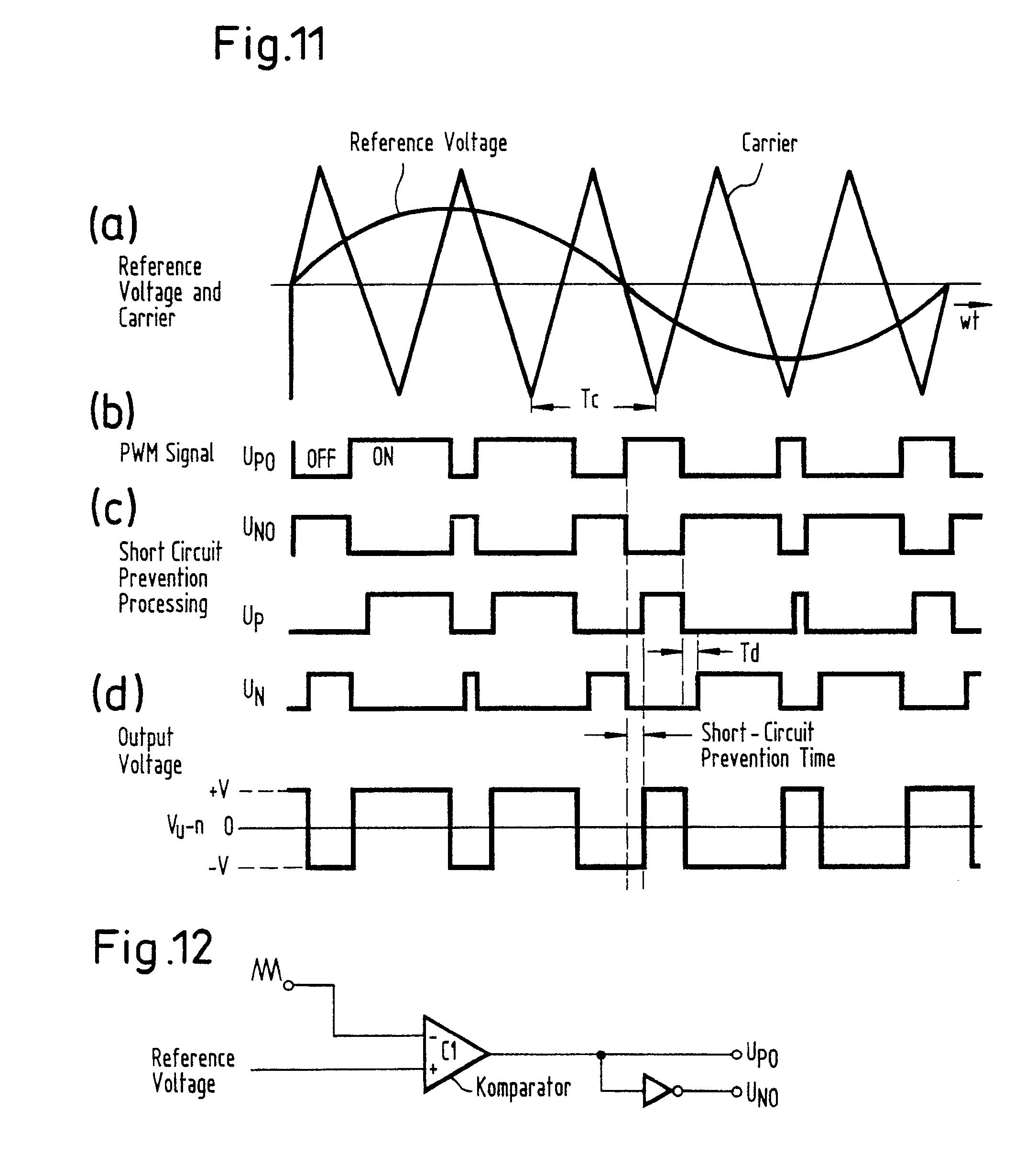 type inverter having temperature compensation   Patentes #222222
