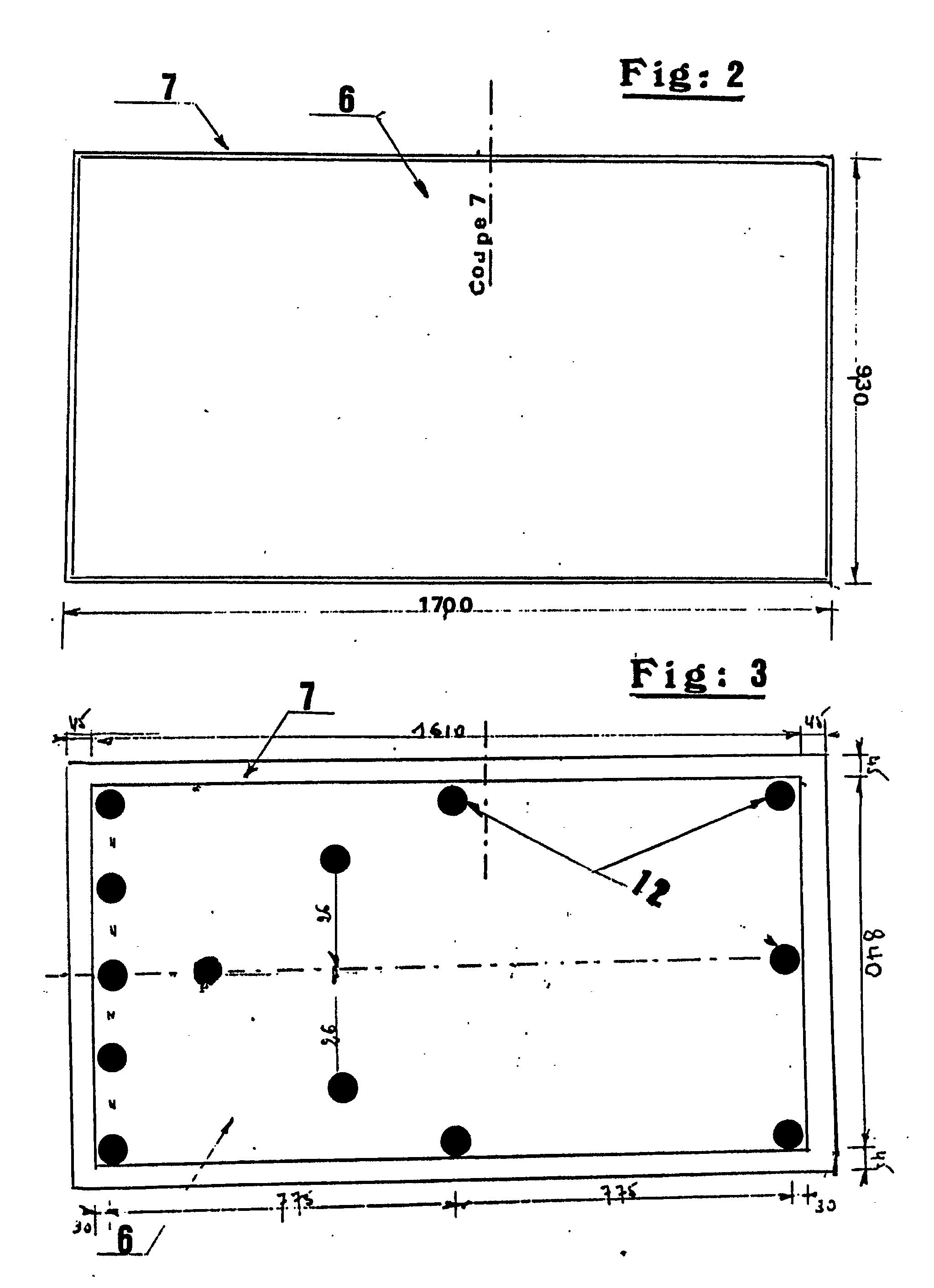 Patent ep0428809a1 table d montable r glable en hauteur pour jeux simultan s de ping pong - Dimension d une table de ping pong ...