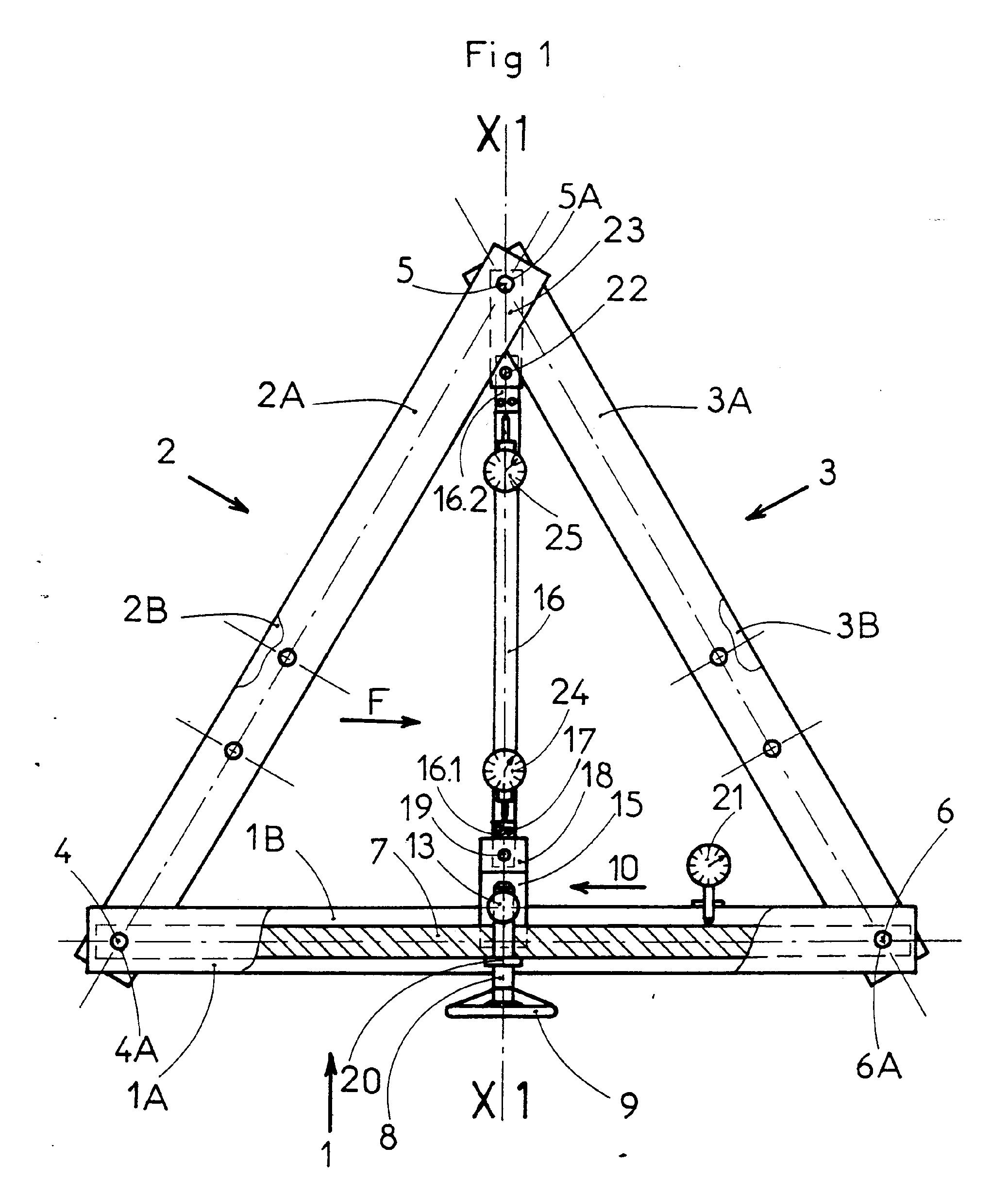 patent ep0432066b1 banc de traction et de flexion google patents. Black Bedroom Furniture Sets. Home Design Ideas