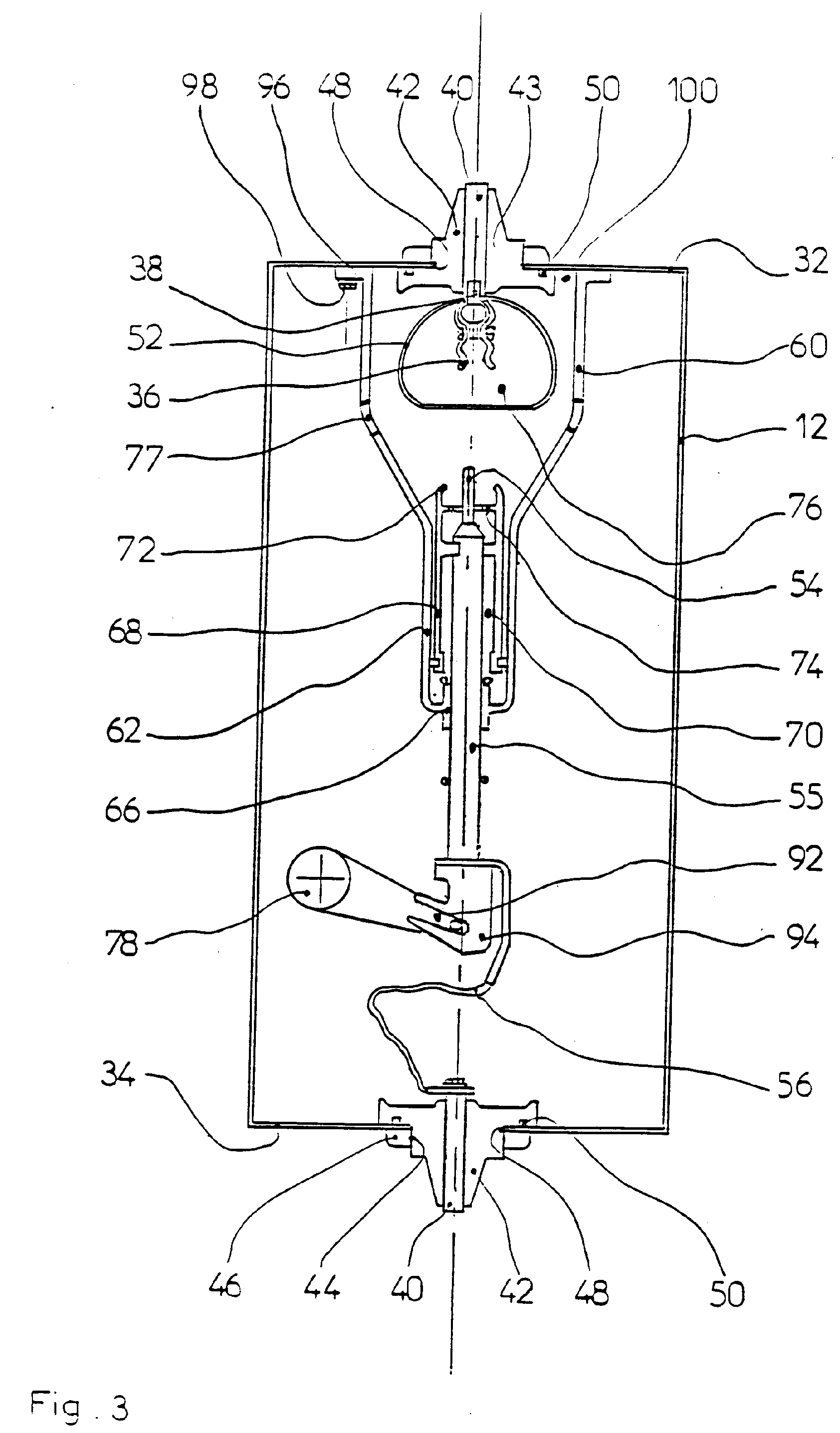 patent ep0433183b1 - three-pole gasinsulated high tension circuit breaker