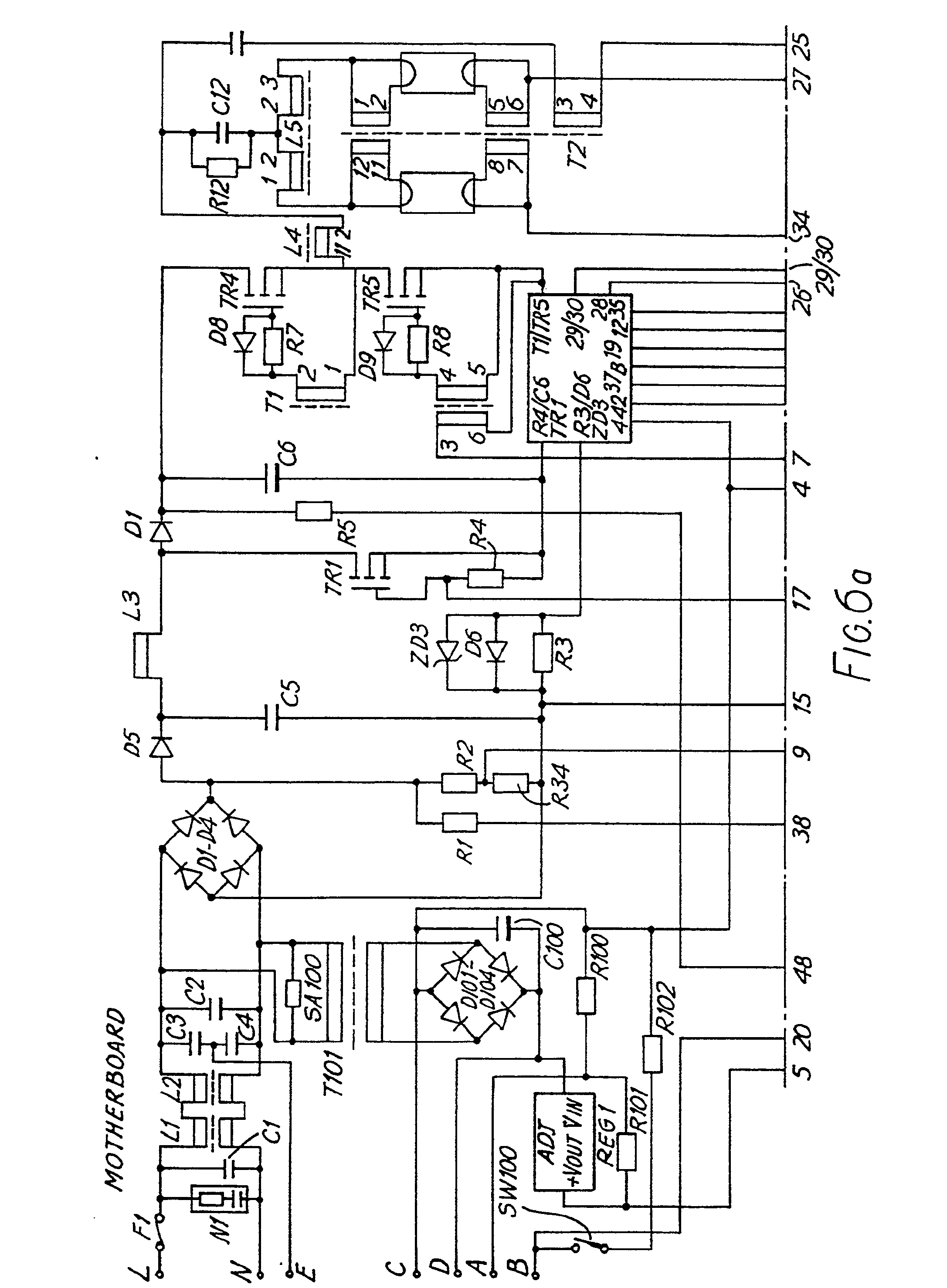 imgf0005 patent ep0447136a2 a method for automatic switching and control helvar ballast wiring diagram at soozxer.org