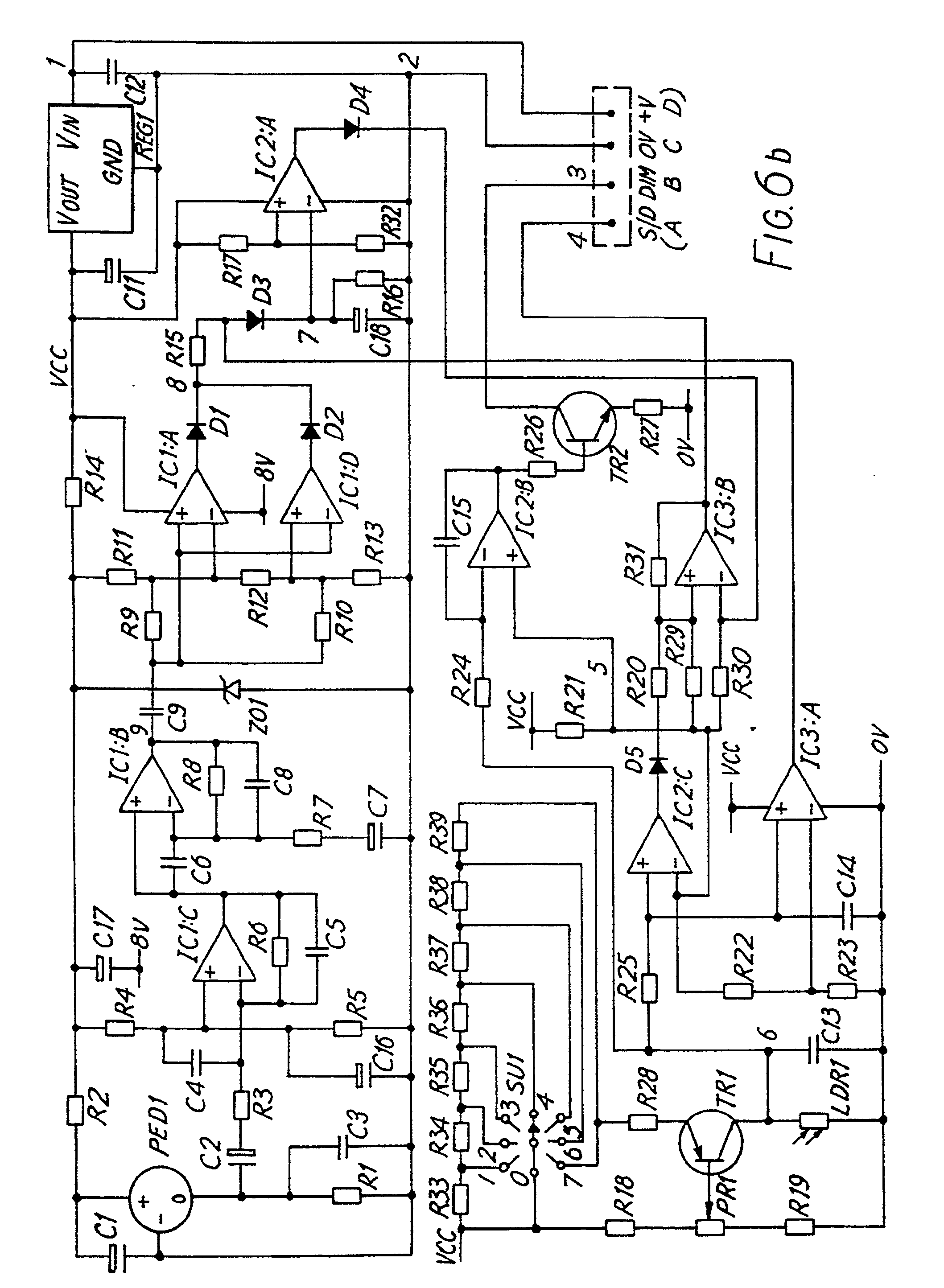 imgf0007 patent ep0447136a2 a method for automatic switching and control helvar ballast wiring diagram at soozxer.org