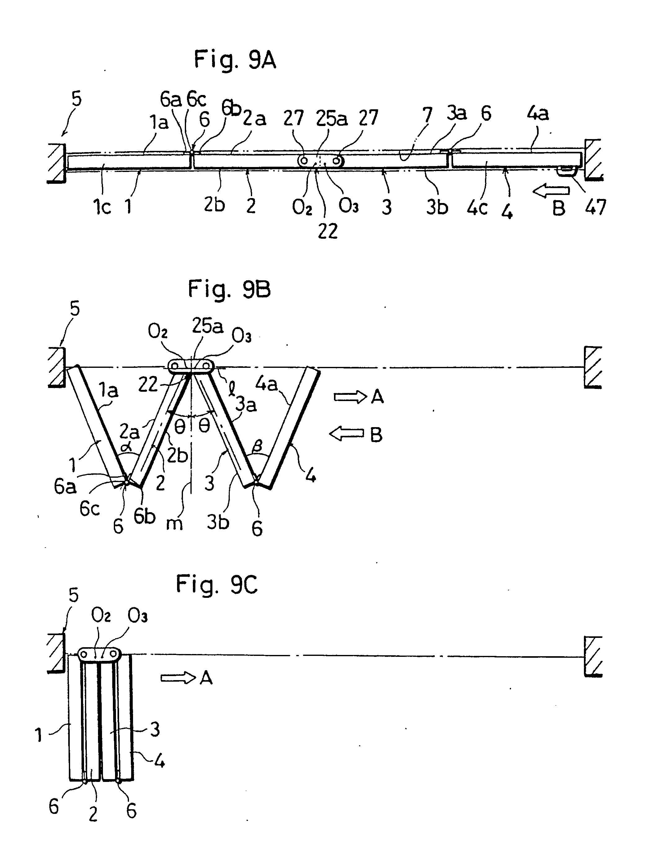 Folding Door Plan : Patent ep a folding door set google patents