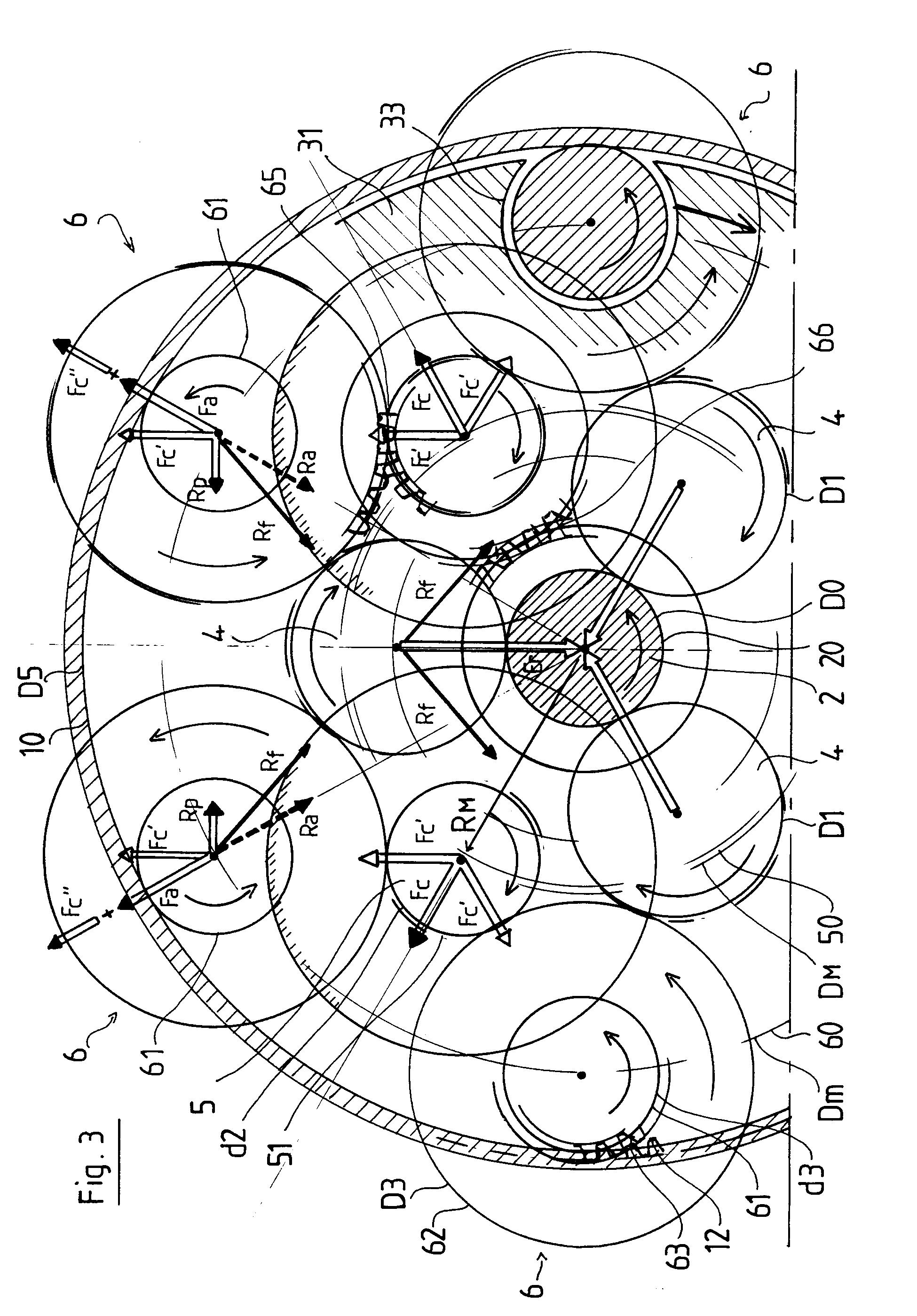 patent ep0453383b1 r ducteur de vitesse roues de friction pour machines tournant r gime de. Black Bedroom Furniture Sets. Home Design Ideas
