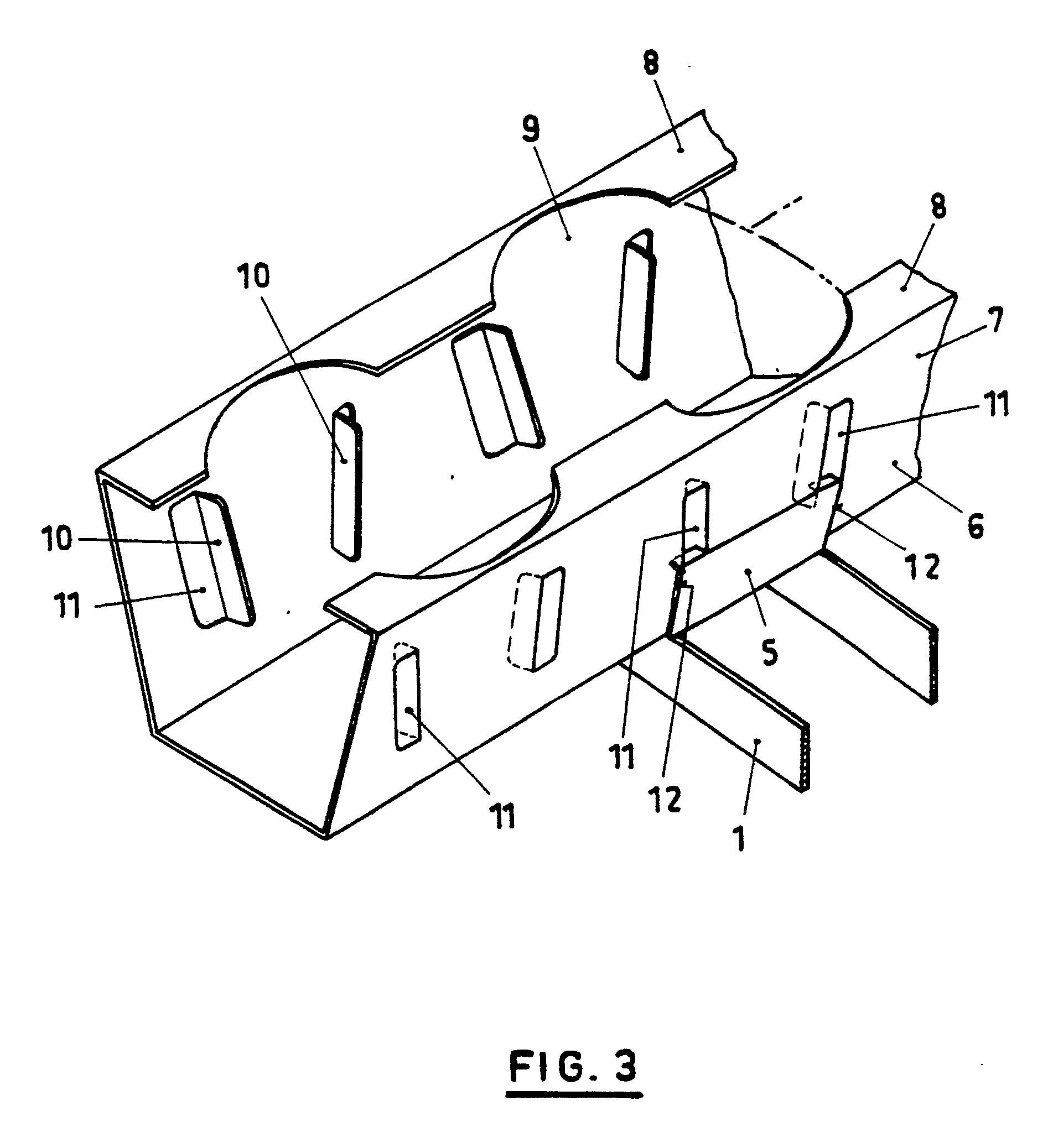 patent ep0456077a1 support de goutti res de culture google patents. Black Bedroom Furniture Sets. Home Design Ideas