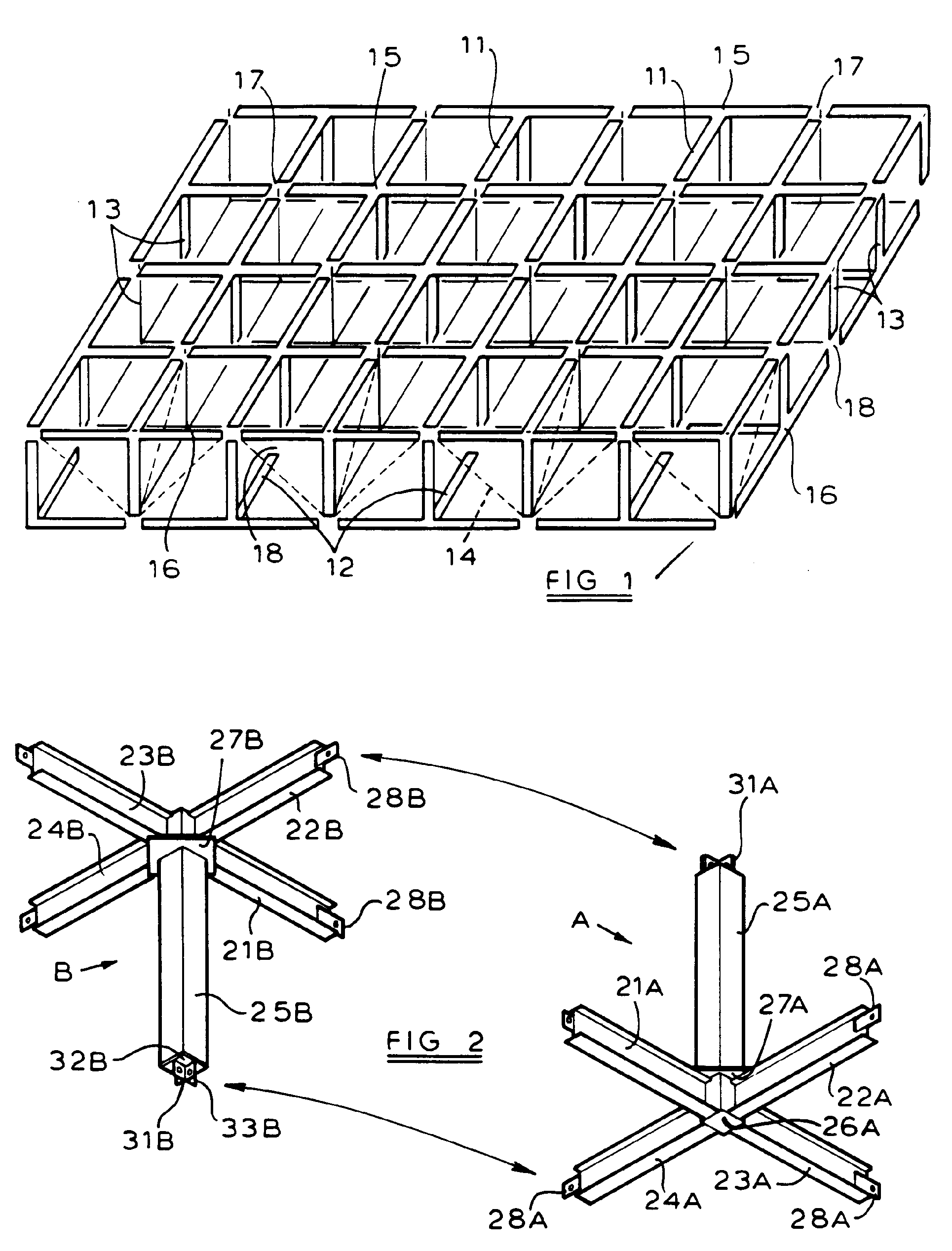 Patent EP0460004B1 - Space Frame And Module For Its Construction - Google Patents