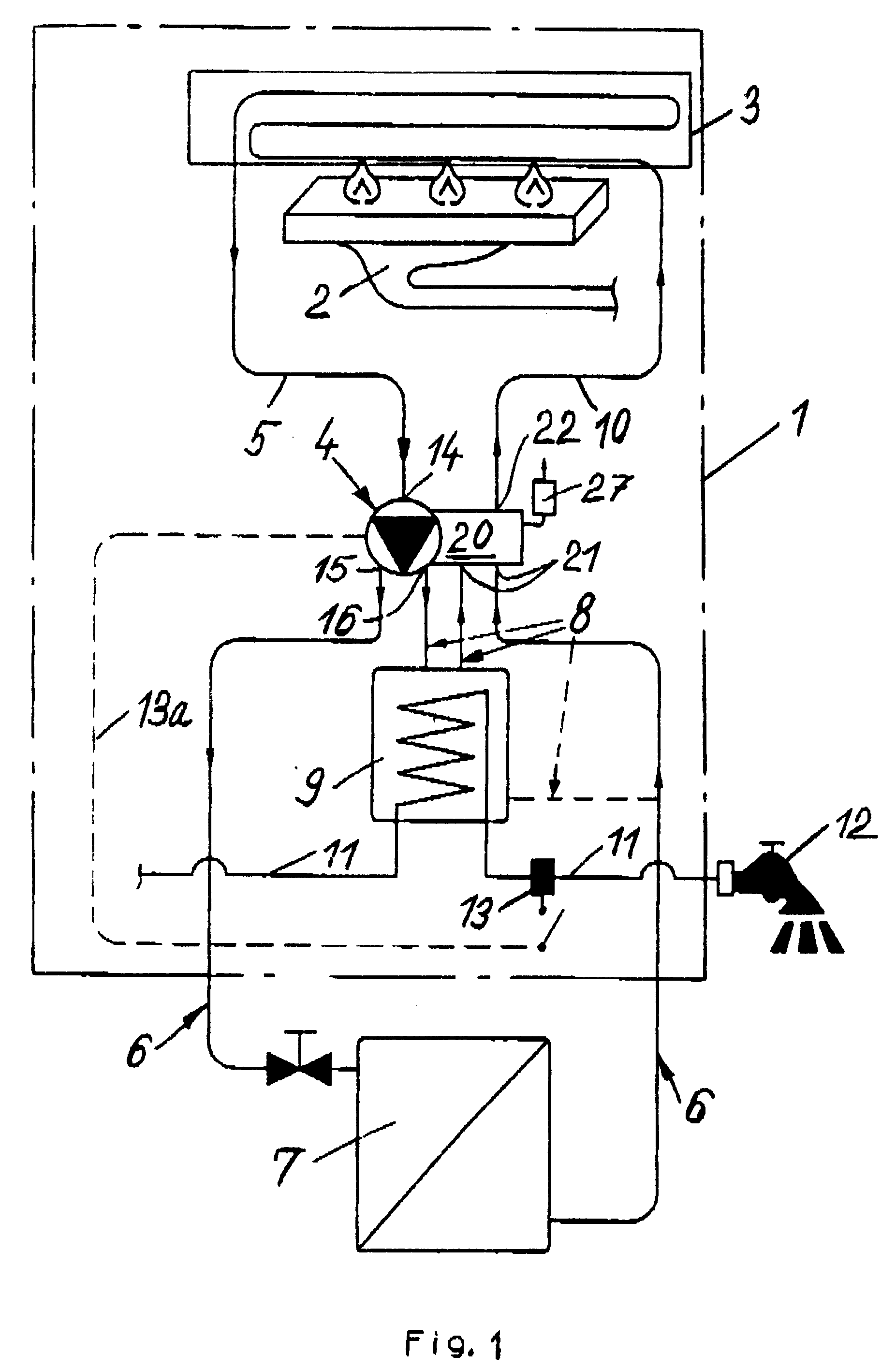 Patent EP0460399B1 - Kreiselpumpe und damit ausgestattete Gastherme ...
