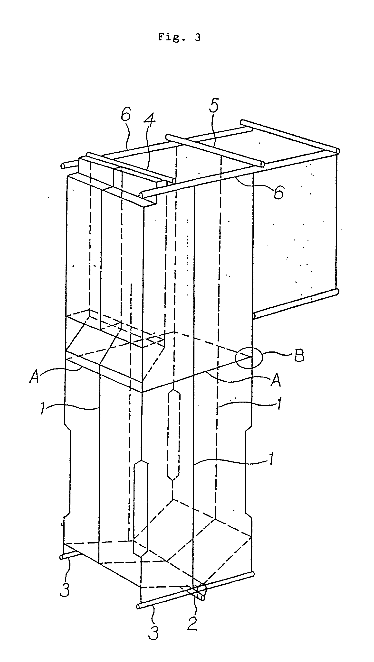 Patent EP A1 Variable pressure once through boiler furnace