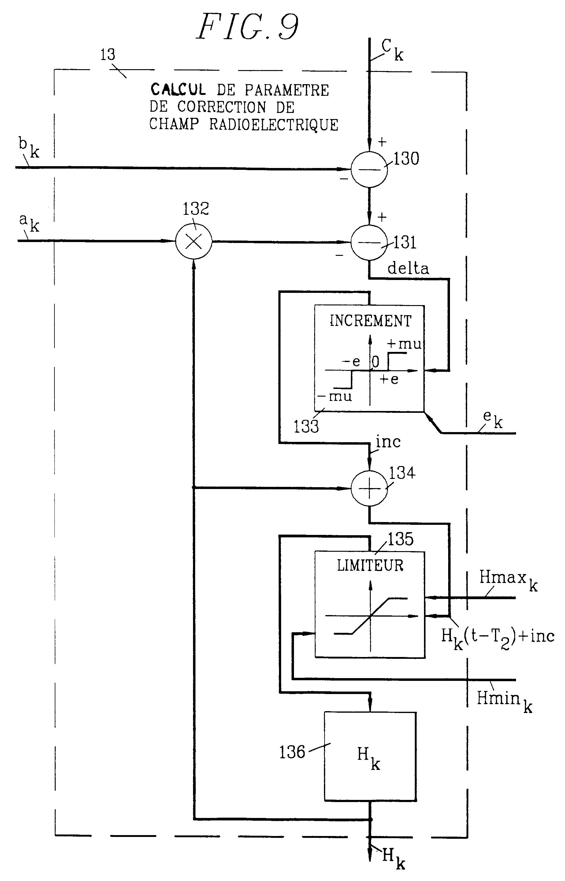 专利ep0466543b1 - lastregelung