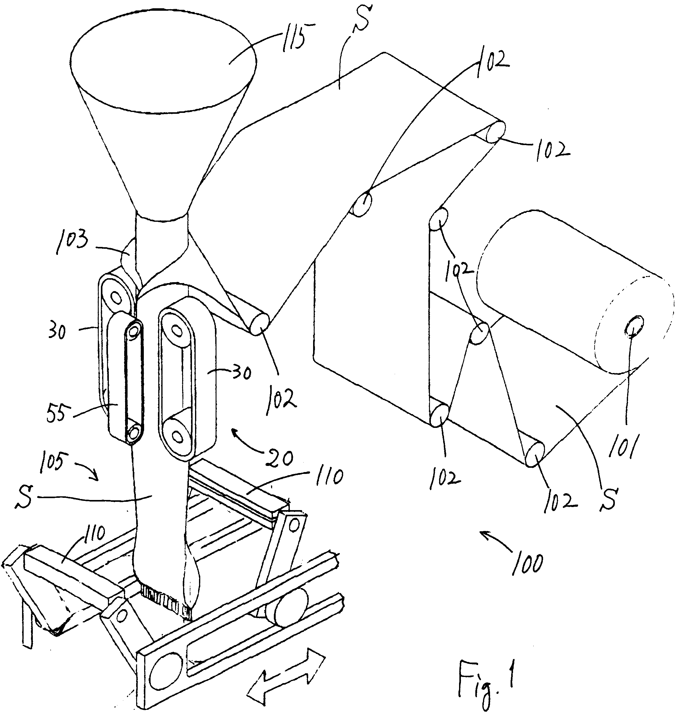 patent ep0469818a2 - film pulling apparatus for a form-fill-seal packaging machine