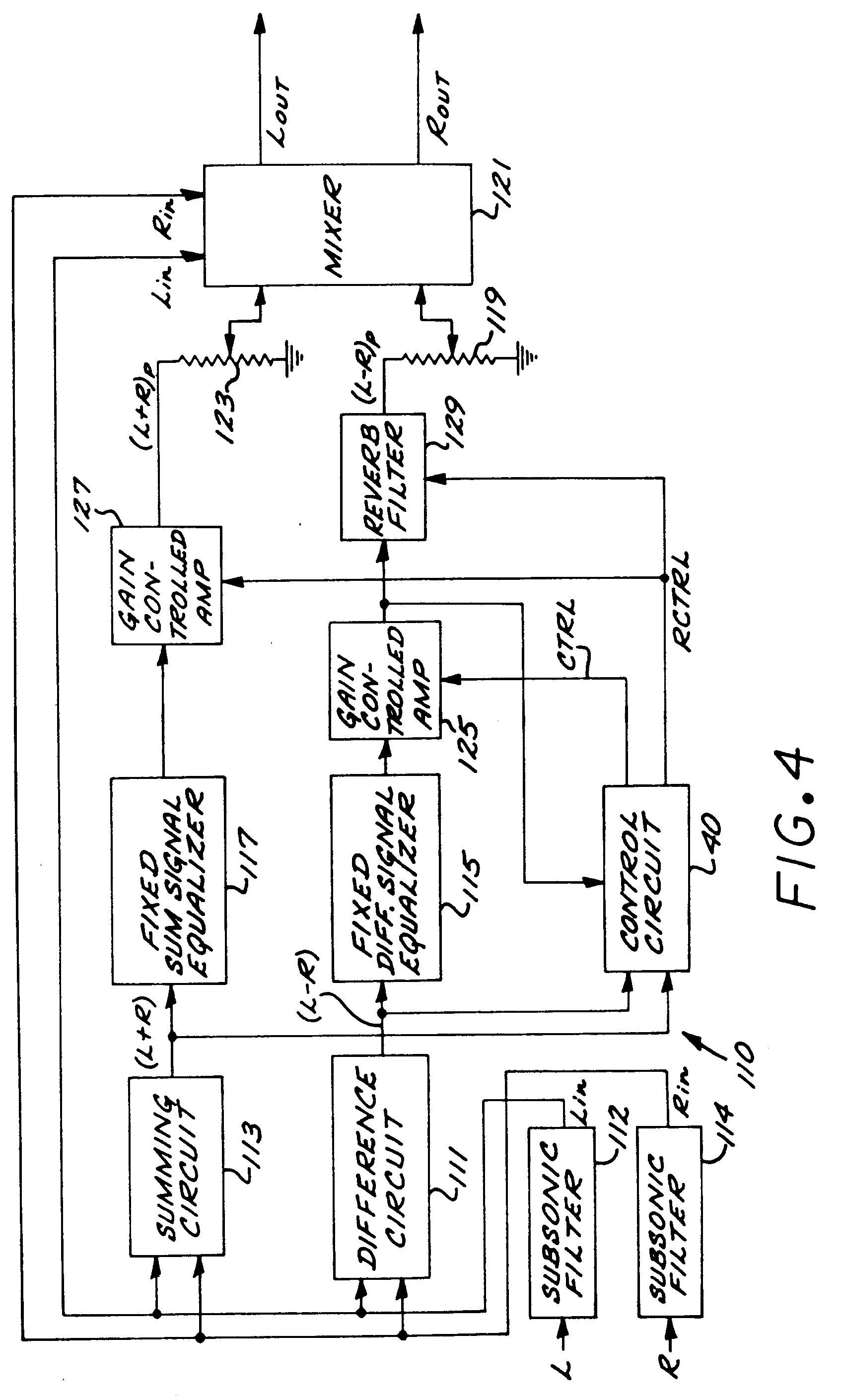 patent ep0478096a2 - stereo enhancement system