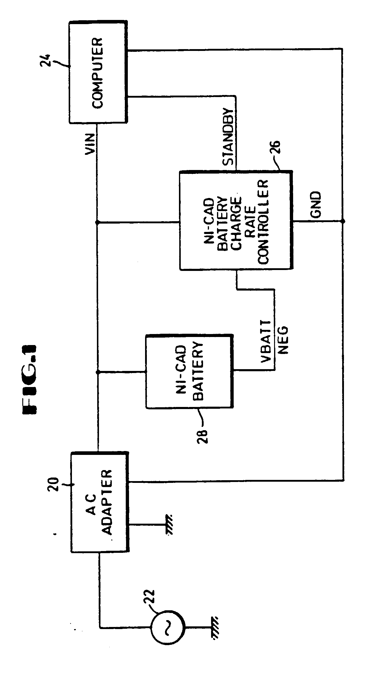 patent ep0480648b1 - ni-cad battery charge rate controller