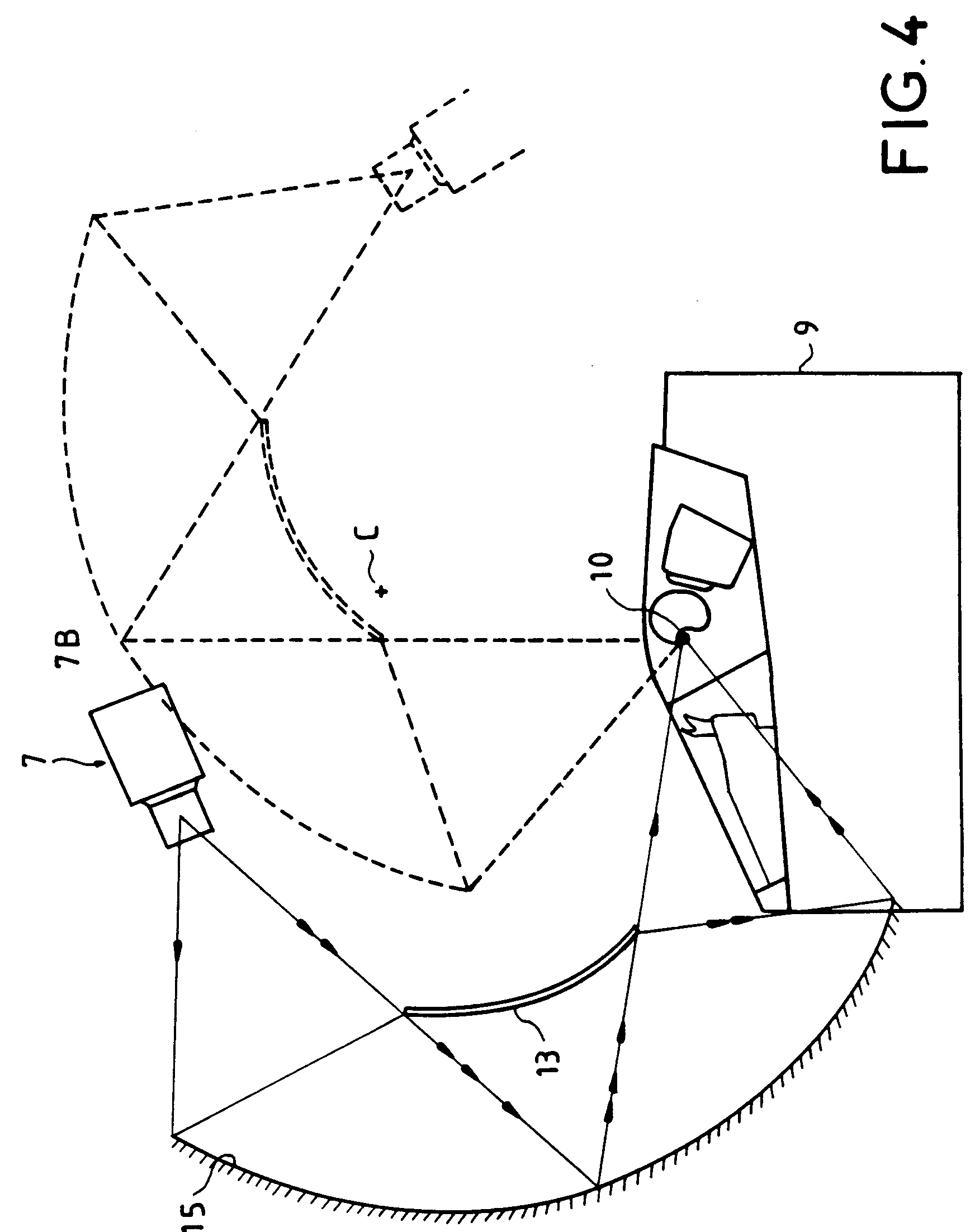 patent ep0487385a1 collimated display system with off